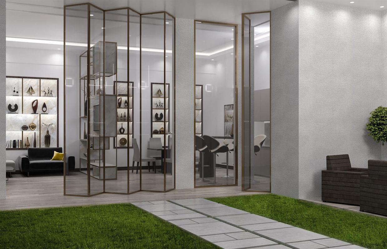 Modern Luxury Indoor Garden Design  Comelite Architecture