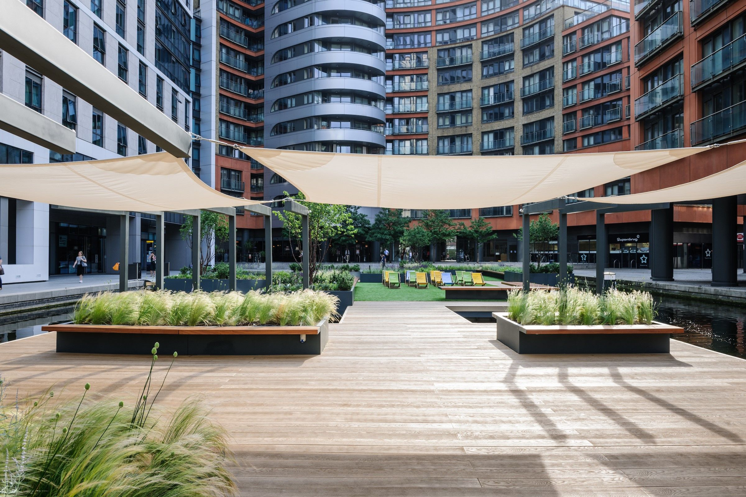 Resin mineral decking by millboard by ansyears archello