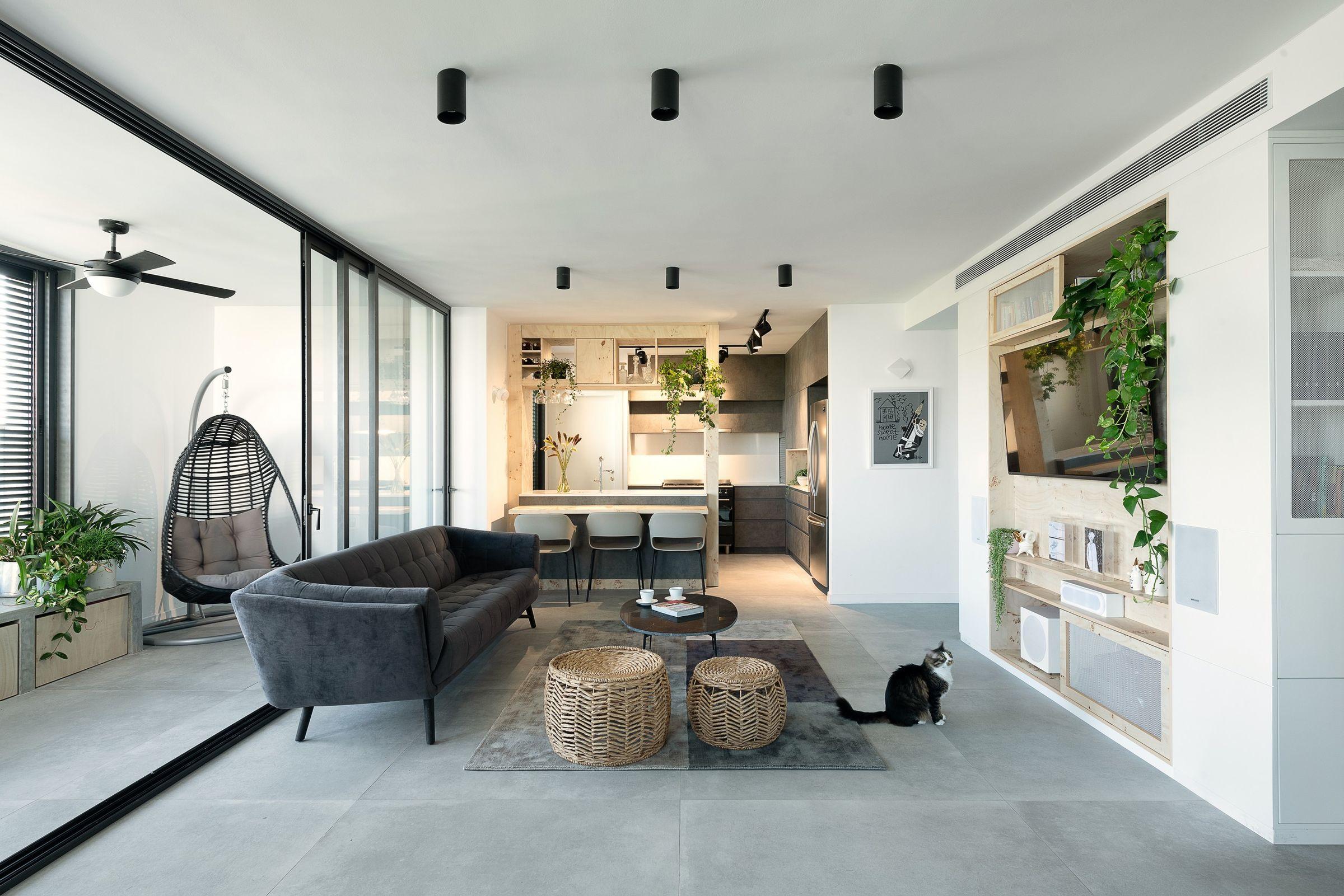 Modern Urban Apartment In Tel Aviv Studio Perri Interior Design Archello