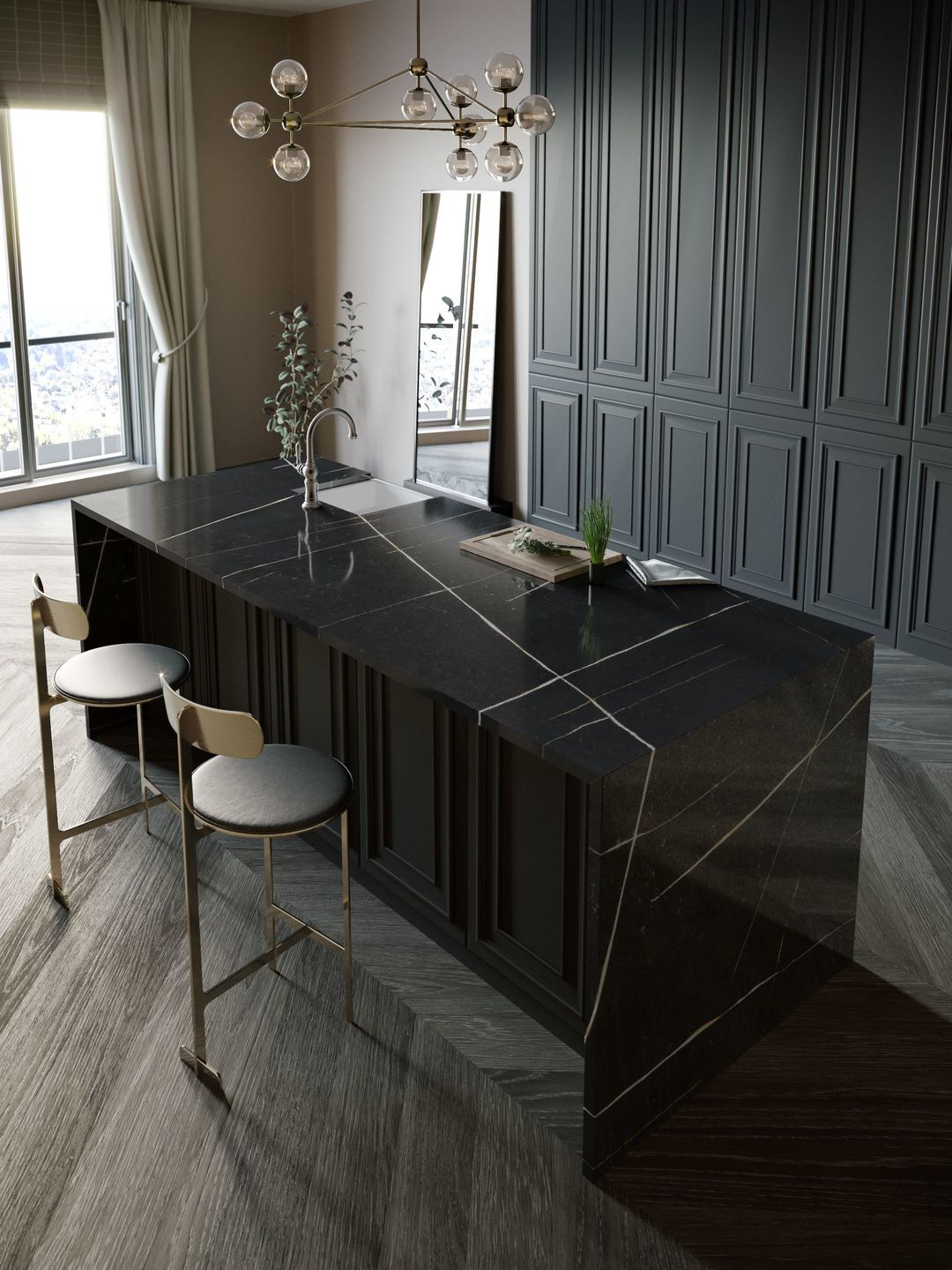 Eternal Noir by Silestone