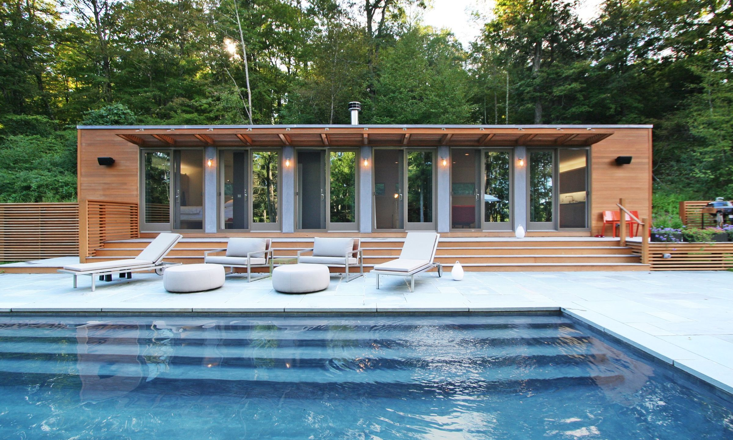 Connecticut Pool House Resolution 4 Architecture Archello