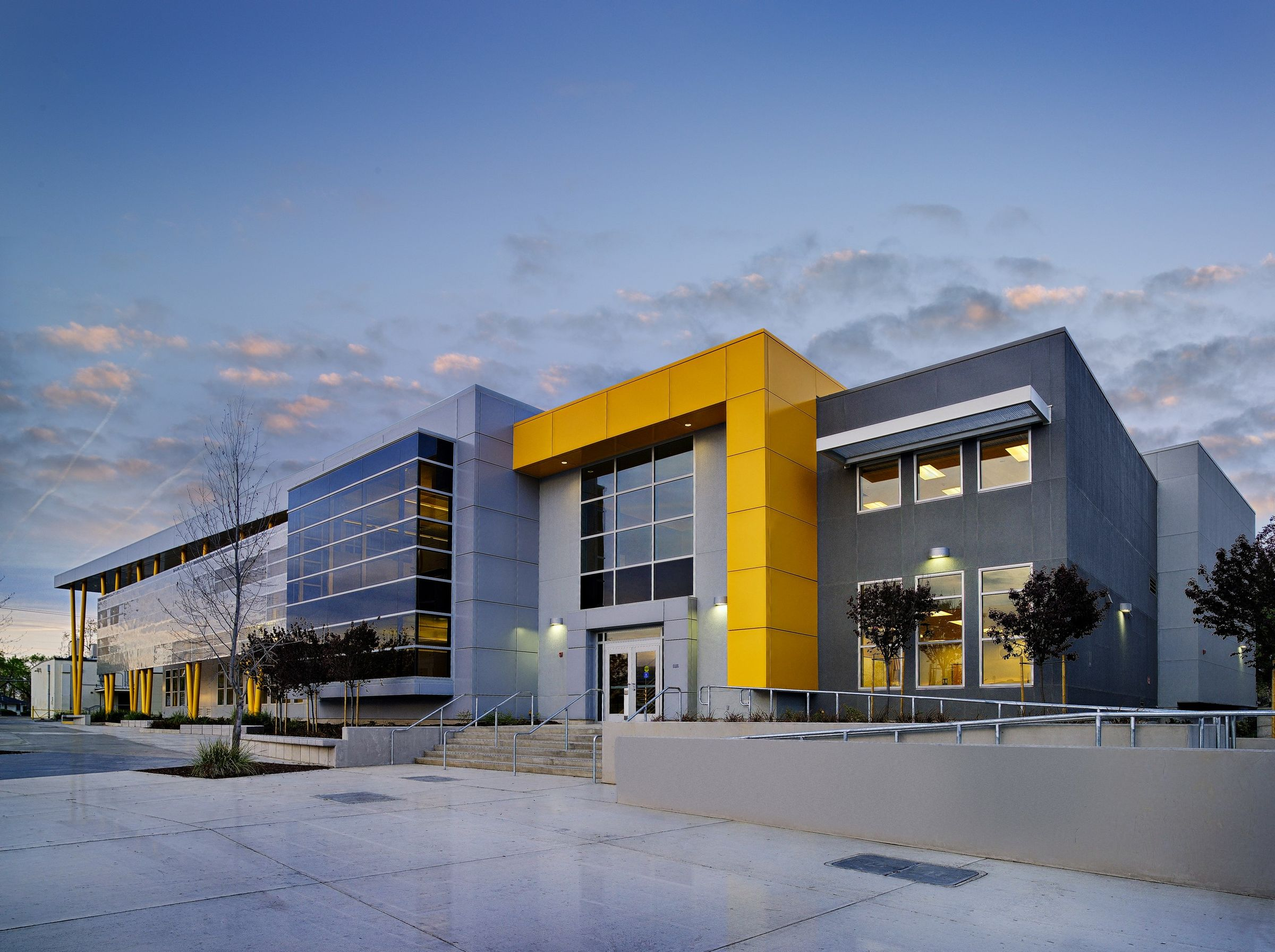 edison high school academic building darden architects