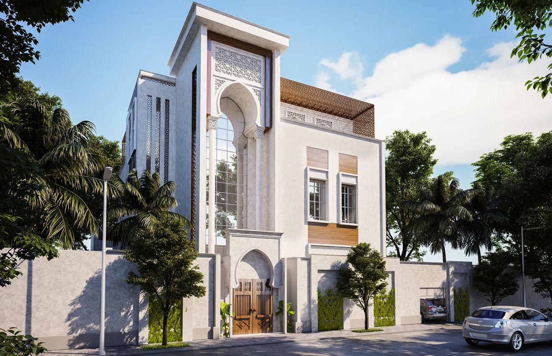 Traditional Arabic House Design Comelite Architecture Structure And Interior Design Archello