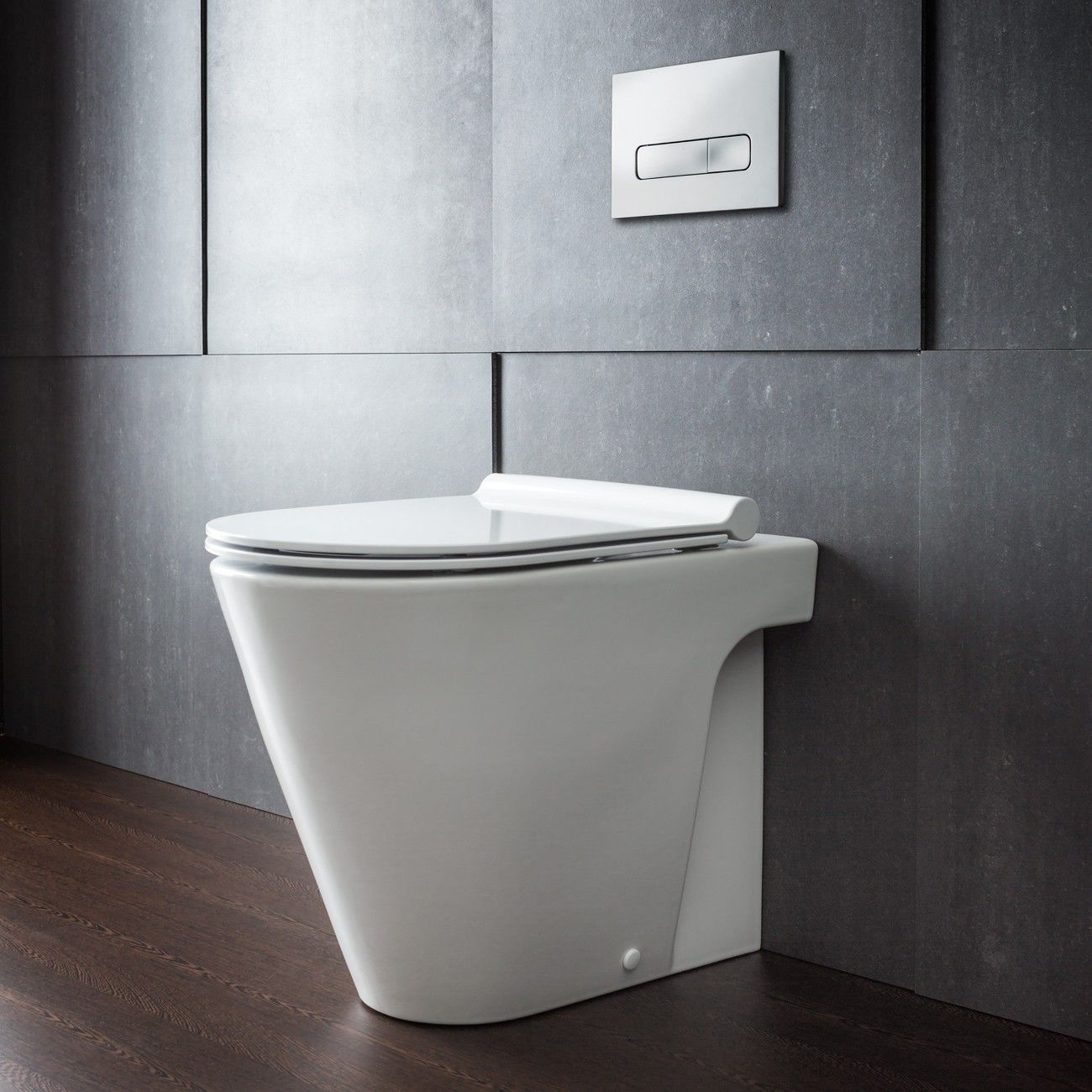 Fine Zero 55 Floor Mount Toilet Pan With Slim Seat By Rogerseller Beatyapartments Chair Design Images Beatyapartmentscom