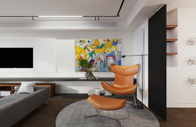 Modern Contemporary Interior Design modern contemporary apartment interior design | comelite