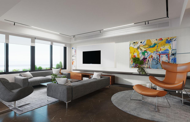 Modern Contemporary Apartment Interior Design Comelite Architecture Structure And Interior Design Media Renders 4 Archello