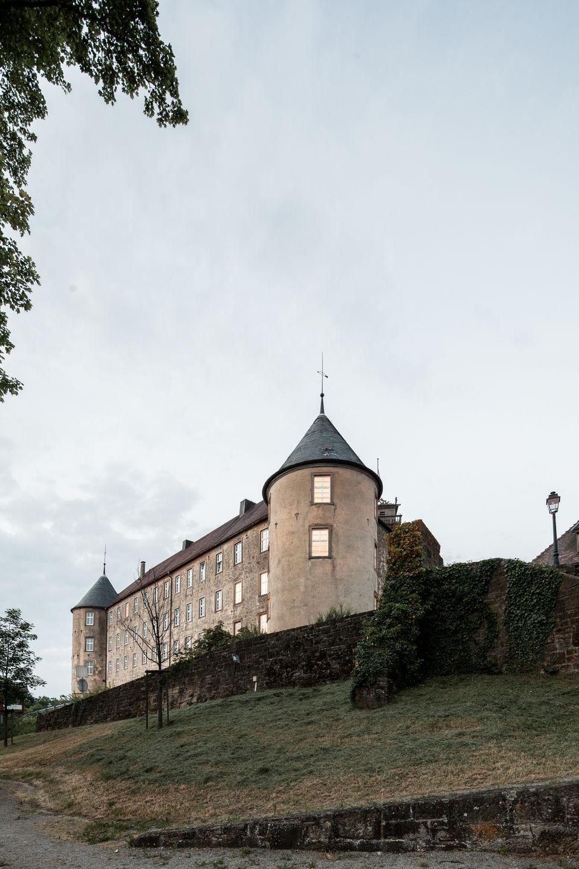 办公室城堡Waldenburg.