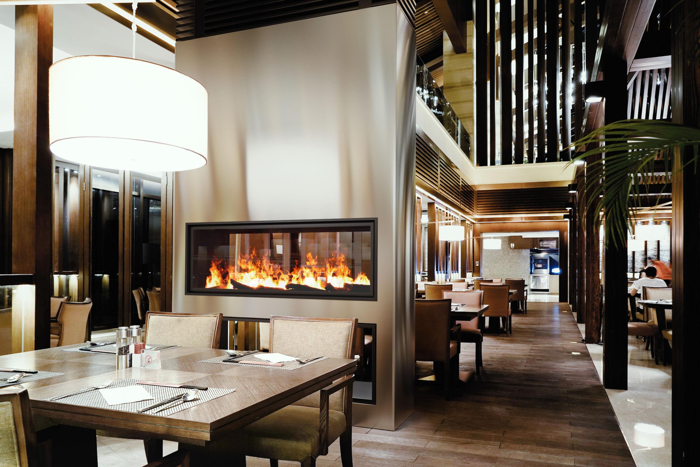 52 Inch See-Thru   Built-In Linear Vapor-Fire Fireplace
