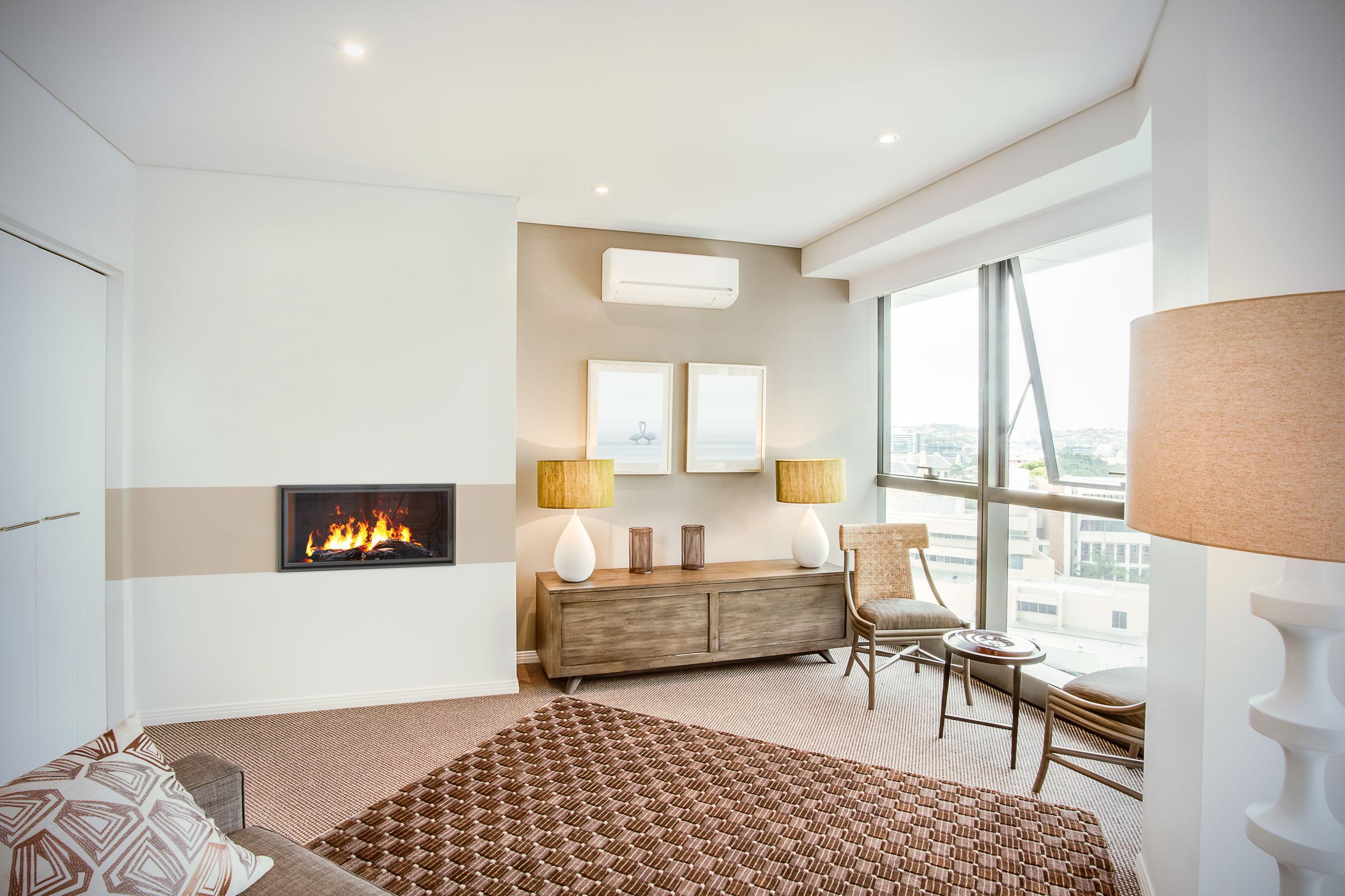 36 Inch Single-Sided | Built-In Linear Vapor-Fire Fireplace