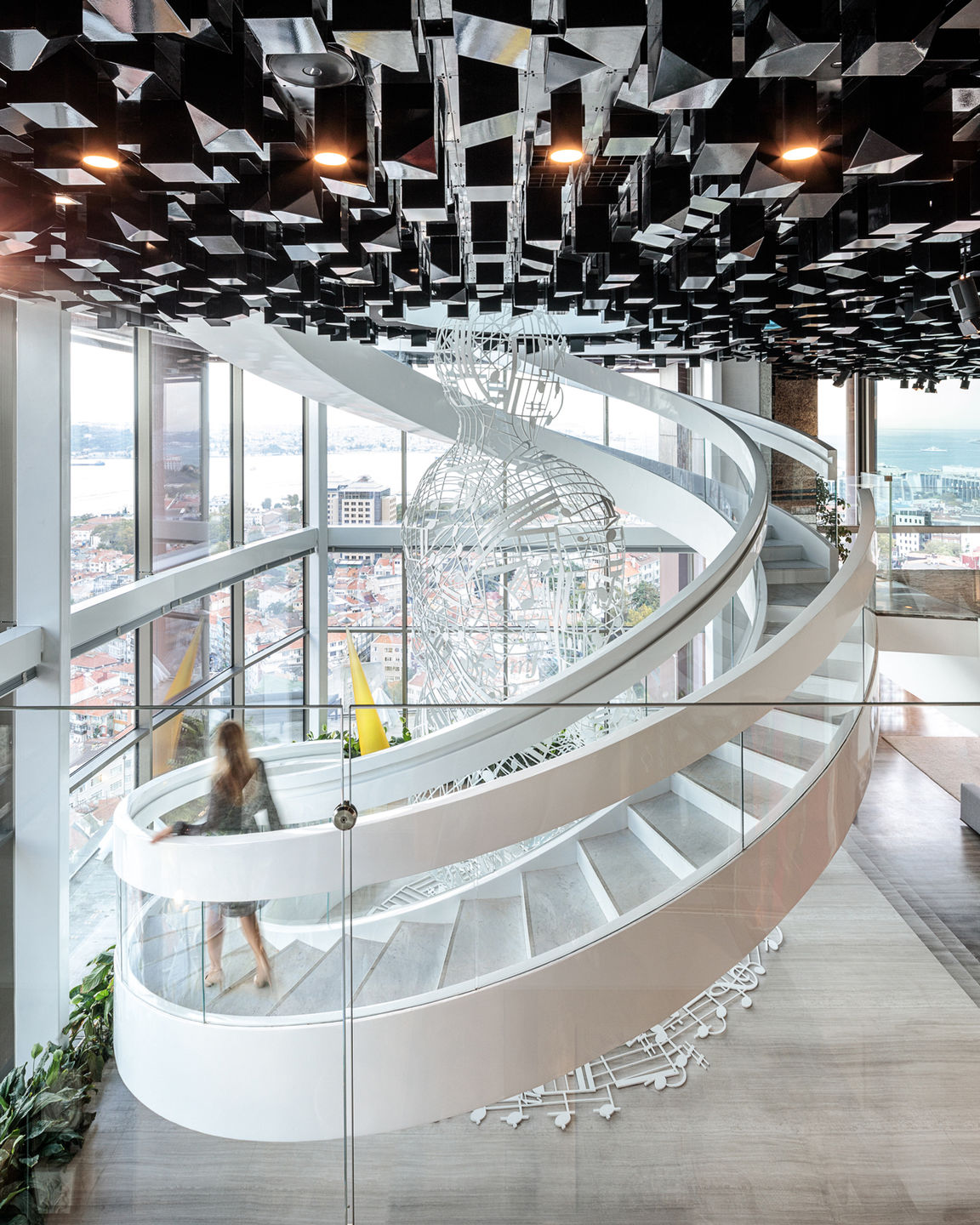 Istanbul penthouse studio rhe archello for Cube suites istanbul