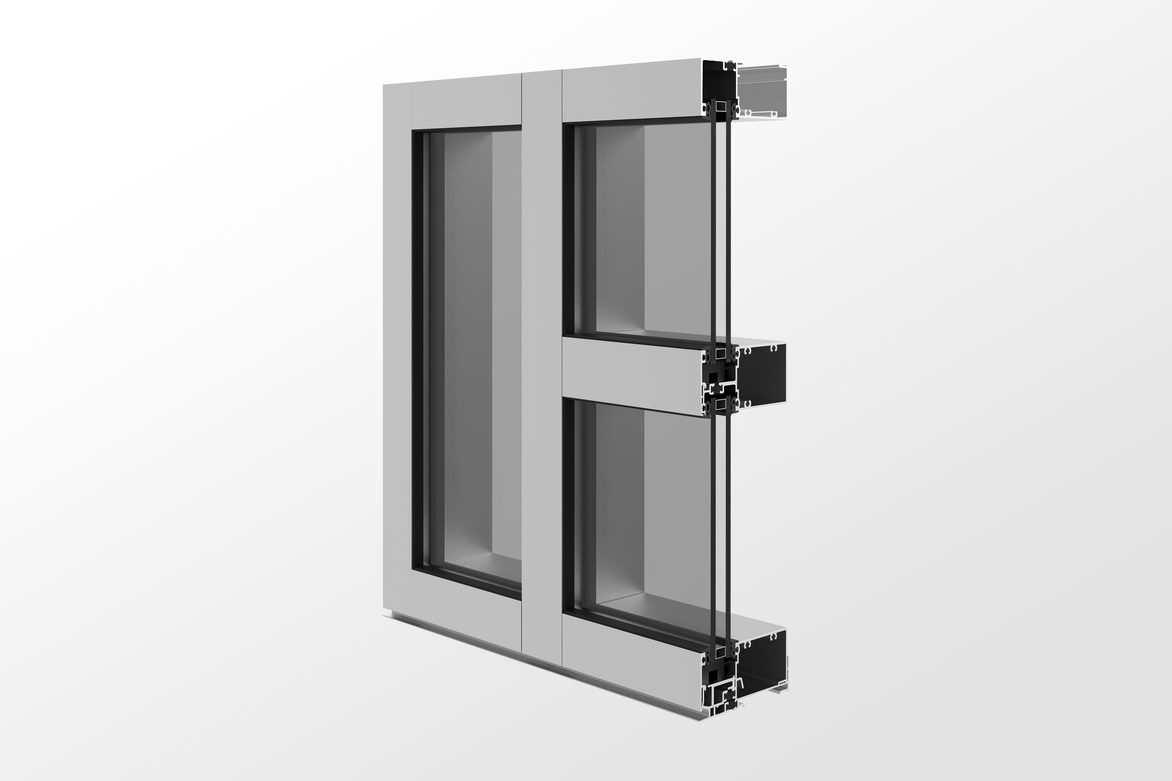YWW 45 TU Window Wall System