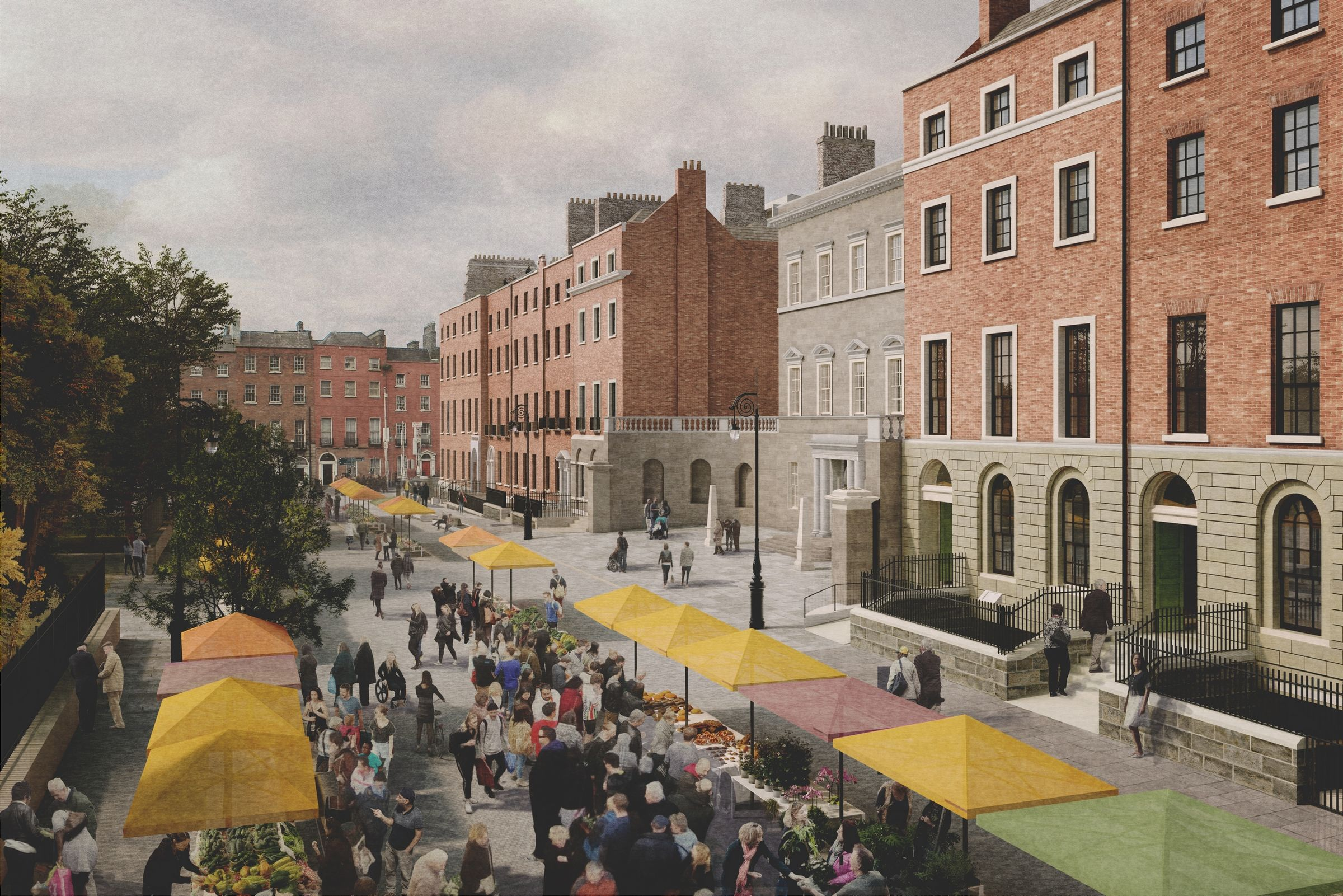 Dublin Library_ Parnell Square context ©Grafton
