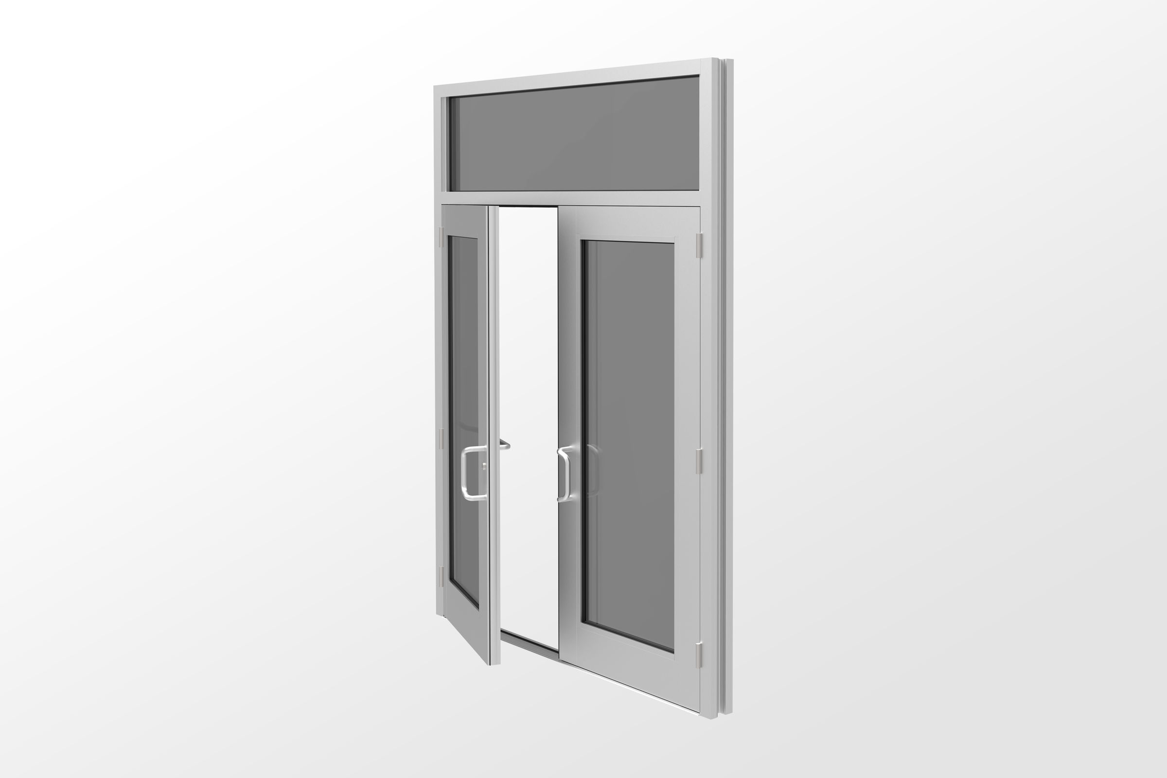 50H Impact Resistant And Blast Mitigating Wide Stile Entrance