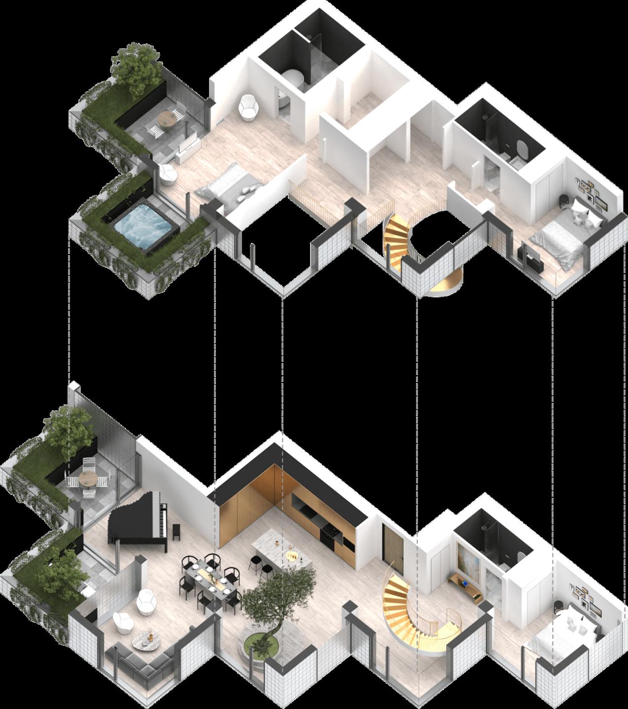 Treehouse floorplan