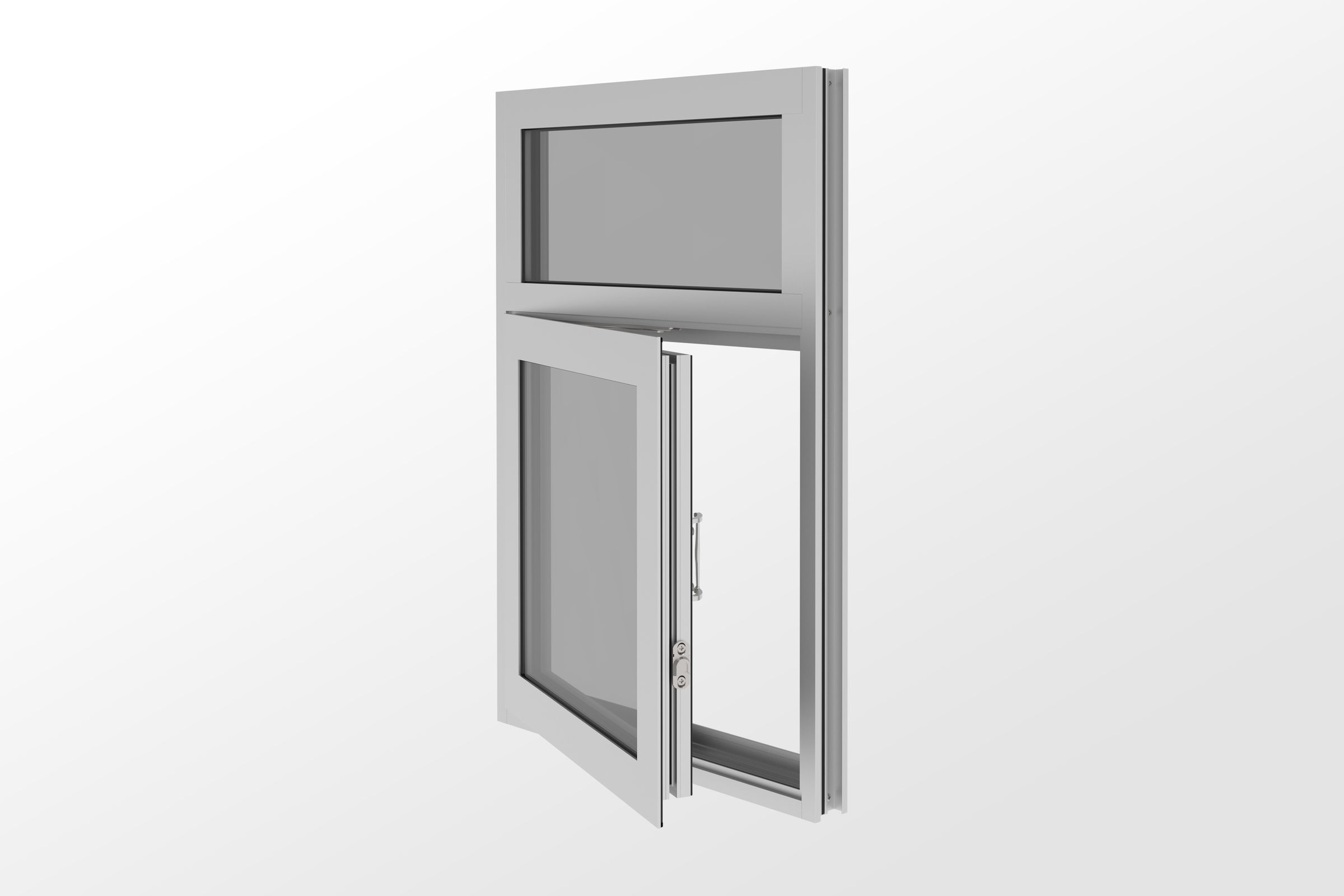 YOW 225 TUH Thermally Broken, Impact and Blast Resistant Operable Window