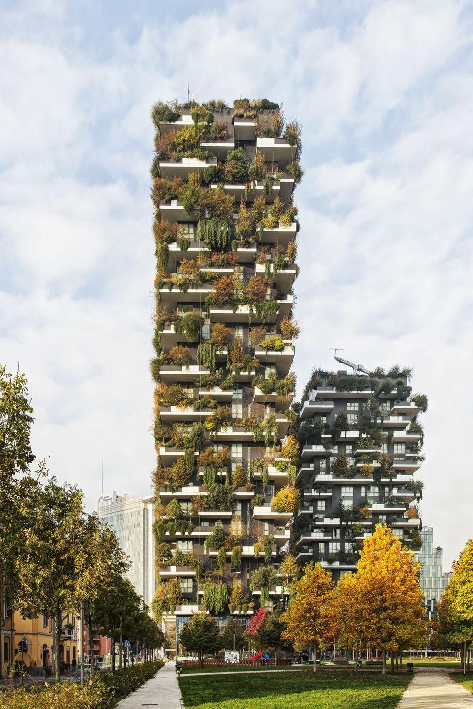 Foto Bosco Verticale Milano bosco verticale   stefano boeri architetti   media - photos