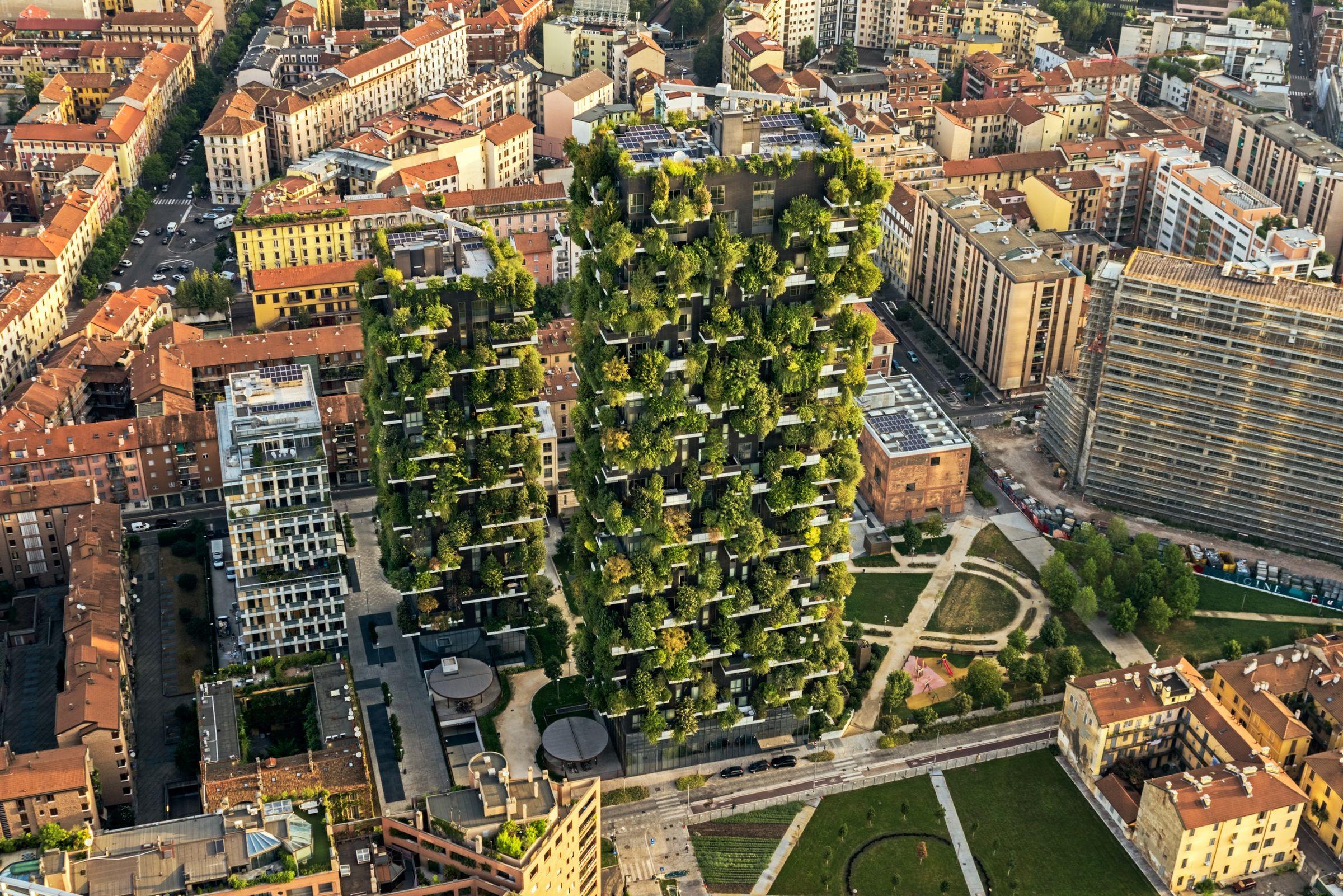Foto Bosco Verticale Milano bosco verticale   stefano boeri architetti, promesh, linea