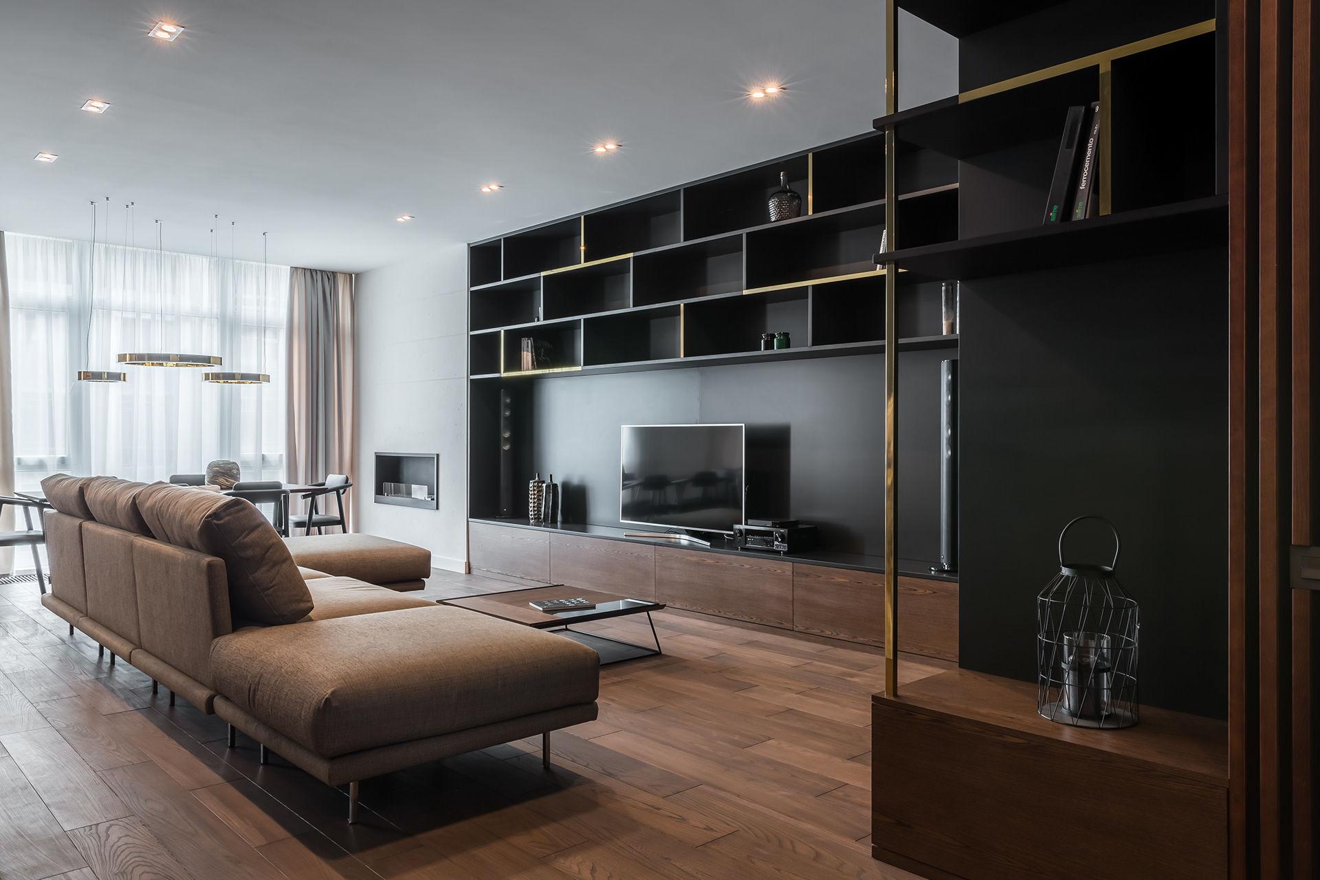 100 Square Meters Of Elegange Or K Apartment Simone Roveda Interior Design Archello