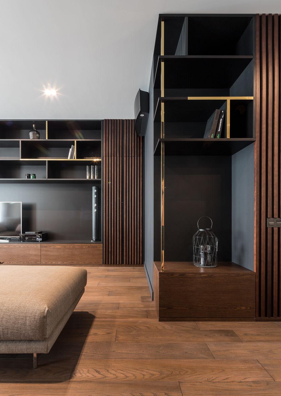 100 Square Meters Of Elegange Or K Apartment Simone Roveda Interior Design Media Photos And Videos 5 Archello