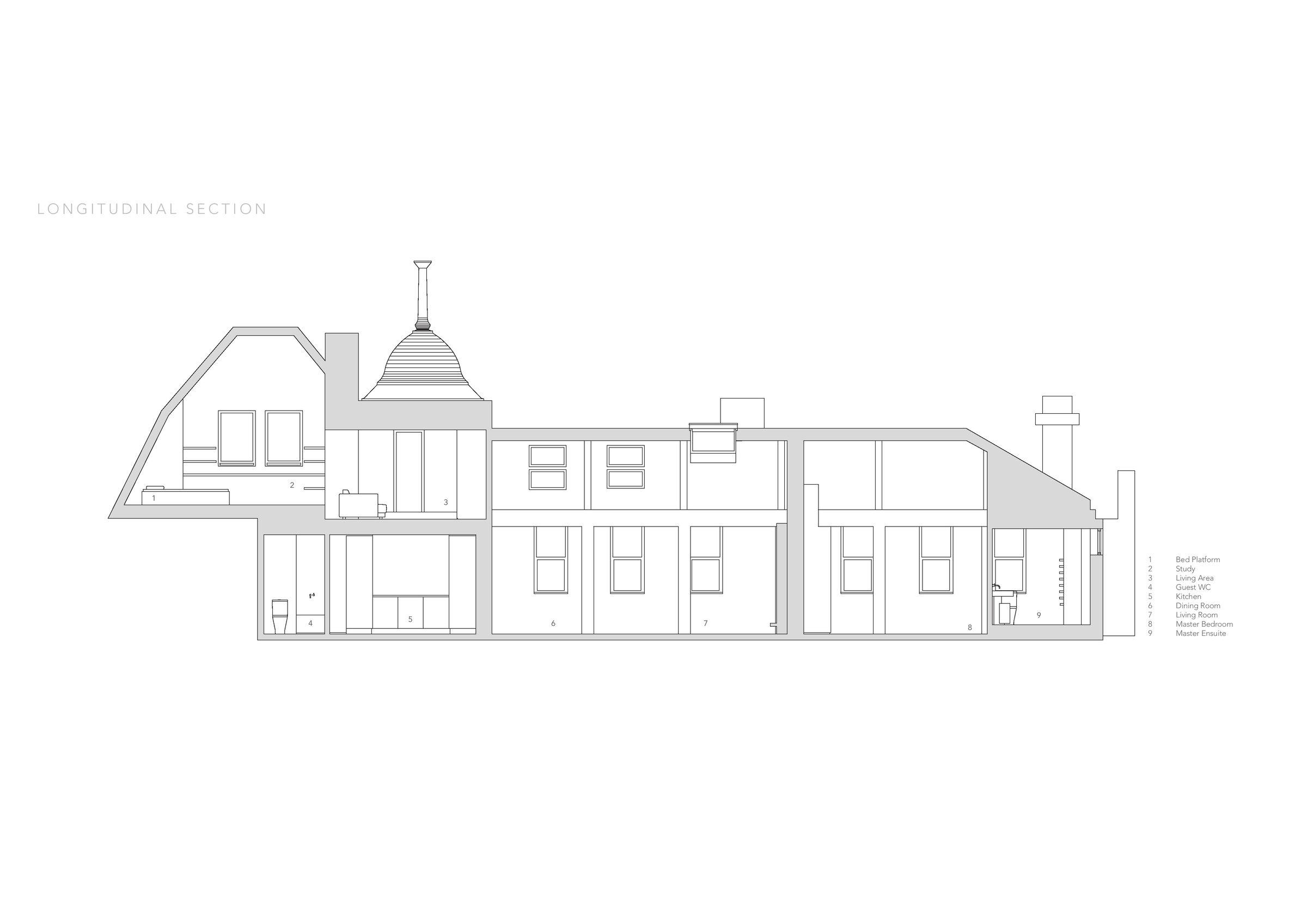 Regent S Park Loft Originate Media Drawings 5 Archello