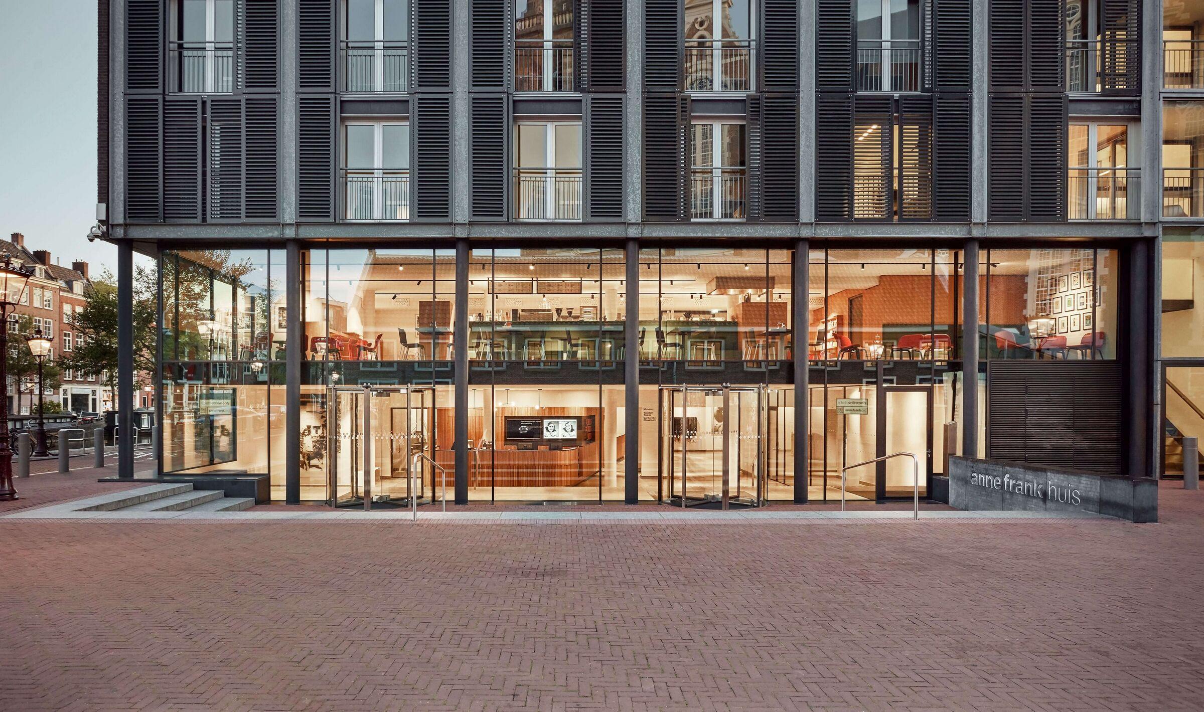 Anne Frank House Museum Cafe Namelok Archello