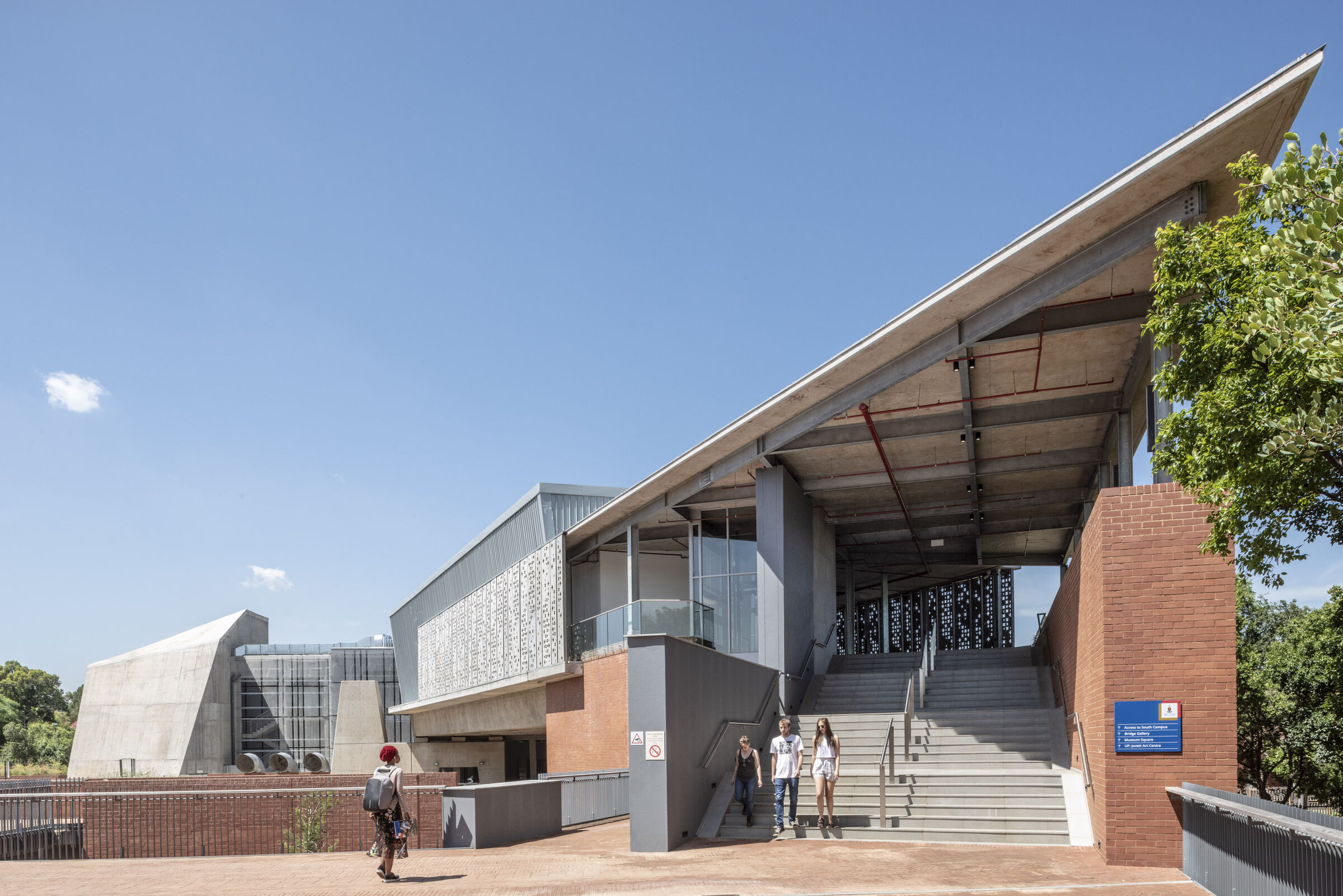 Javett Art Centre At The University Of Pretoria Mathews Associates Architects Media Photos And Videos 3 Archello