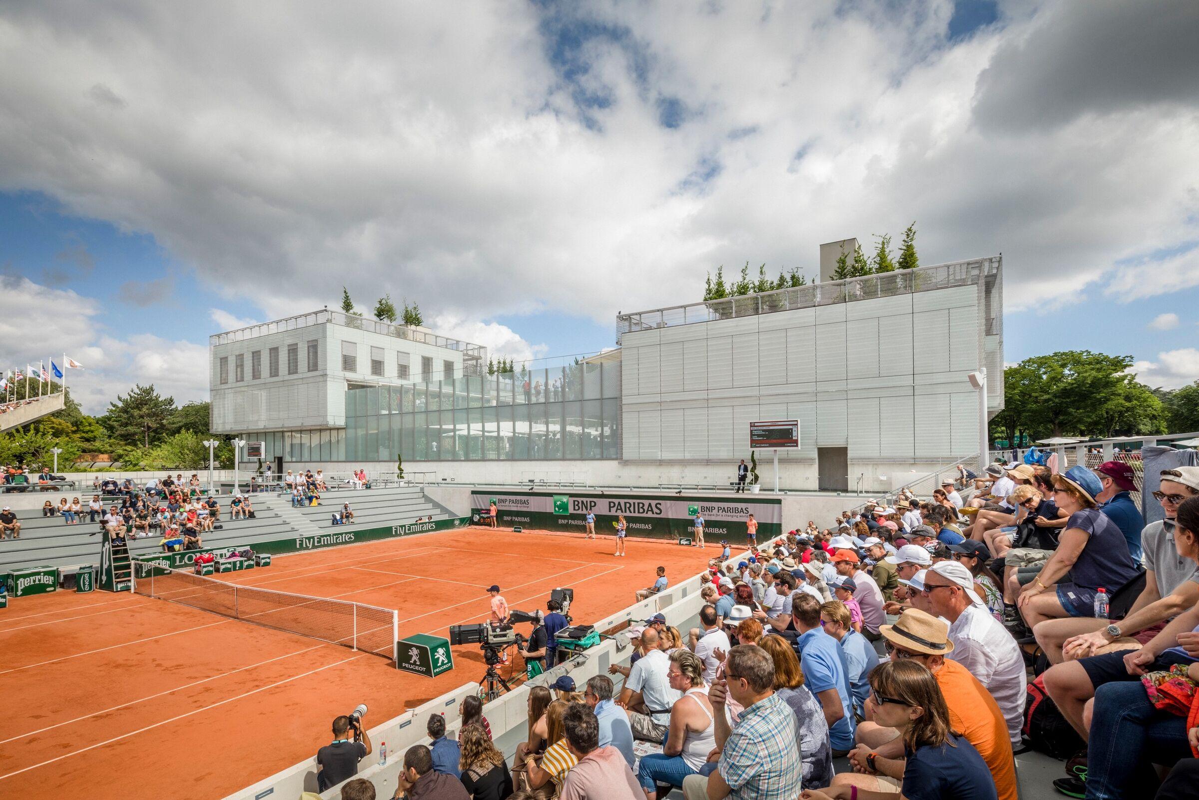 Roland-Garros Stadium Modernization   Chaix & Morel et ...