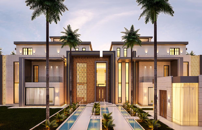 Modern House Design In Muscat Oman Comelite Architecture Structure And Interior Design Archello