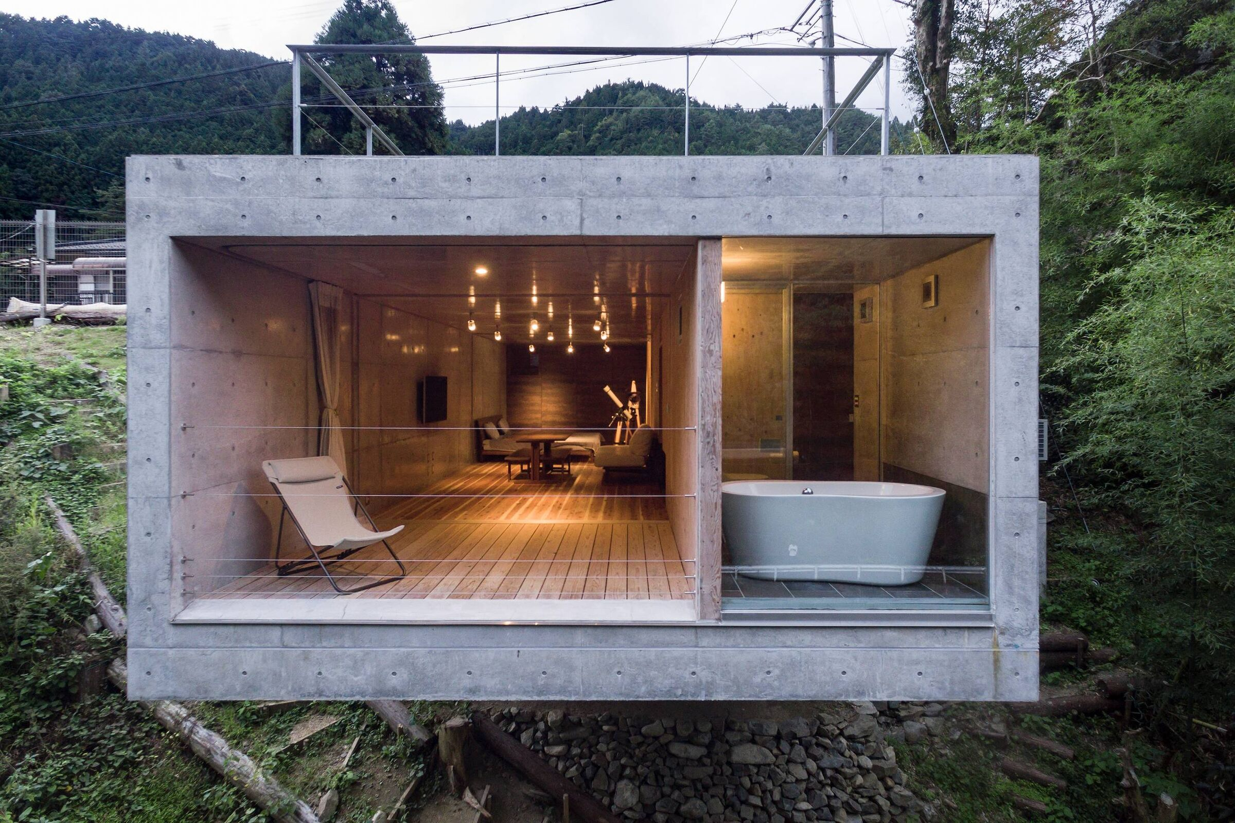 CLIFF HOUSE   PLANET Creations Sekiya Masato   Archello