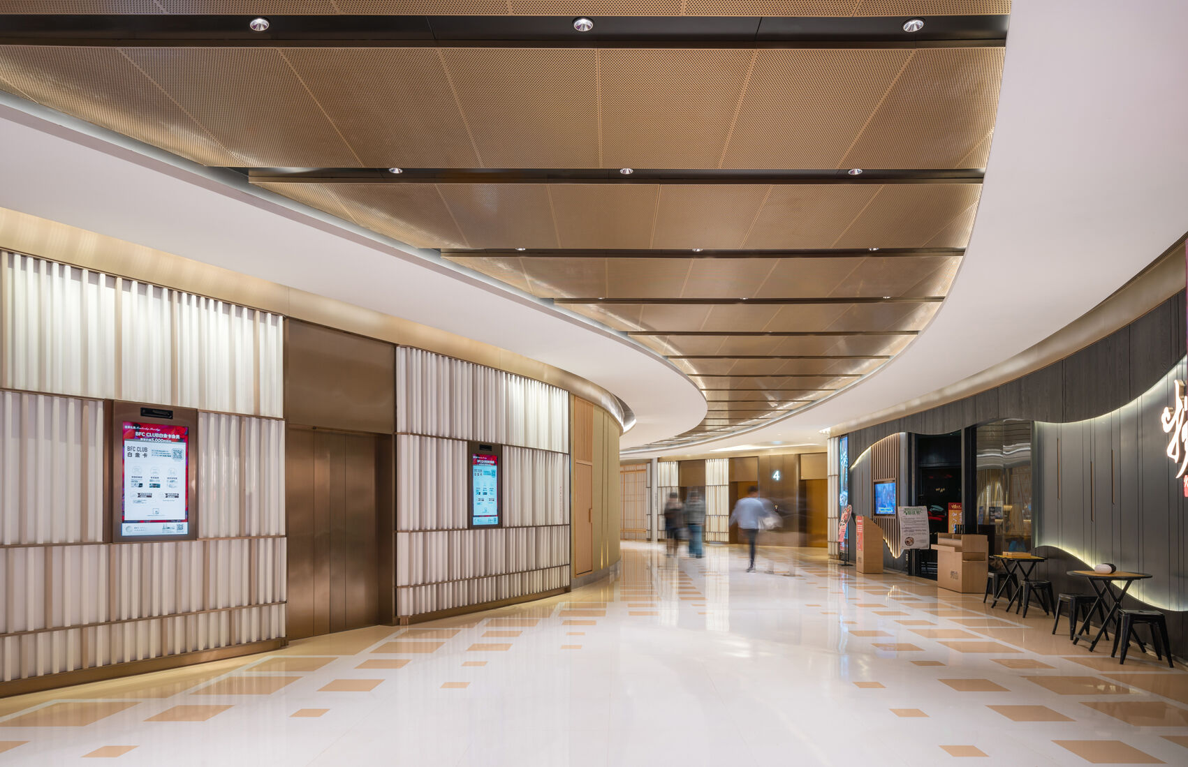 the ceiling aluminum extension in corridor space.jpg