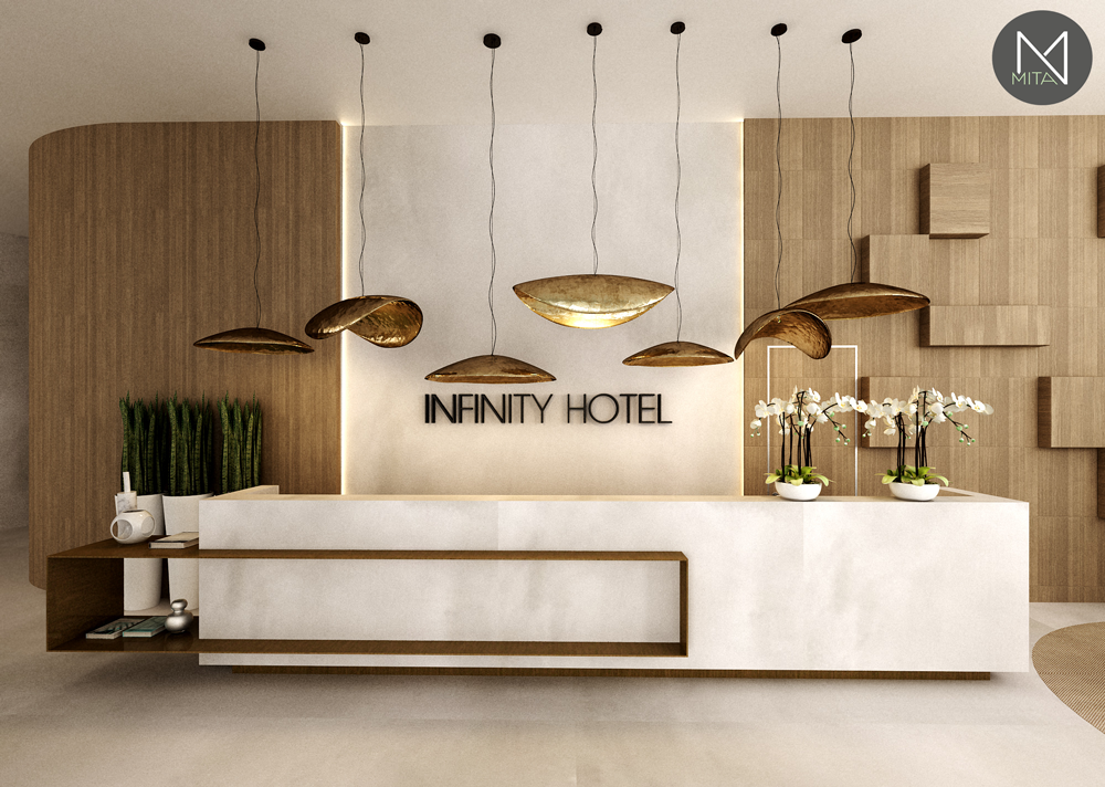 Interior Design Reception Hotel M N Mita Associates Archello