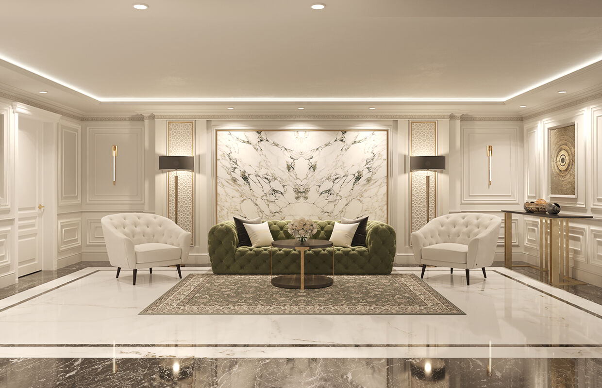 Movenpick Hotel Royal Suite Design Comelite Architecture Structure And Interior Design Media Renders 1 Archello