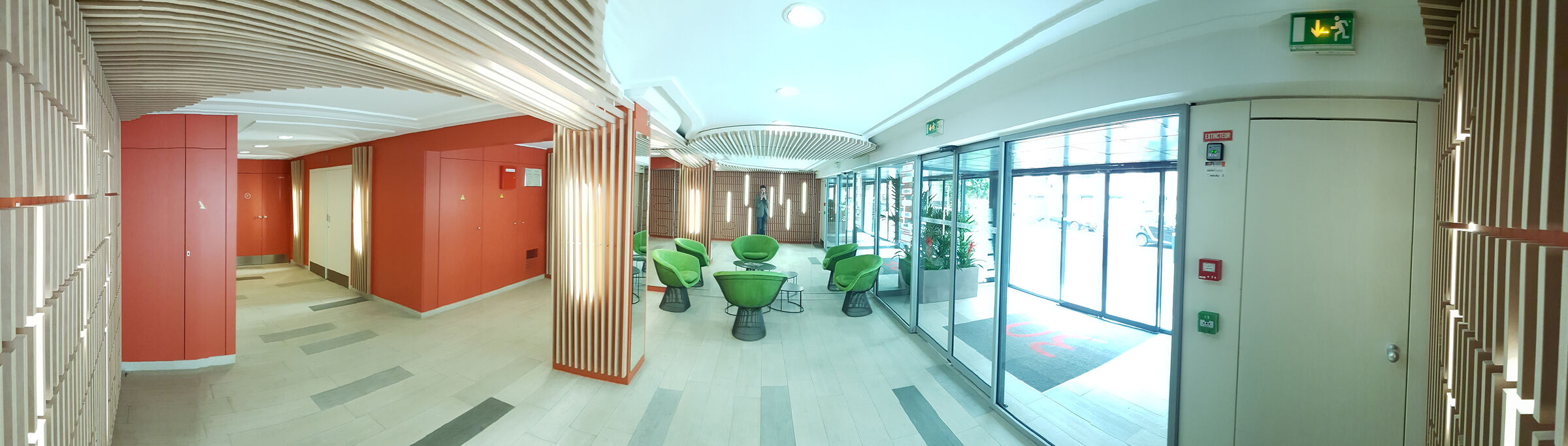 Picture of the lobby