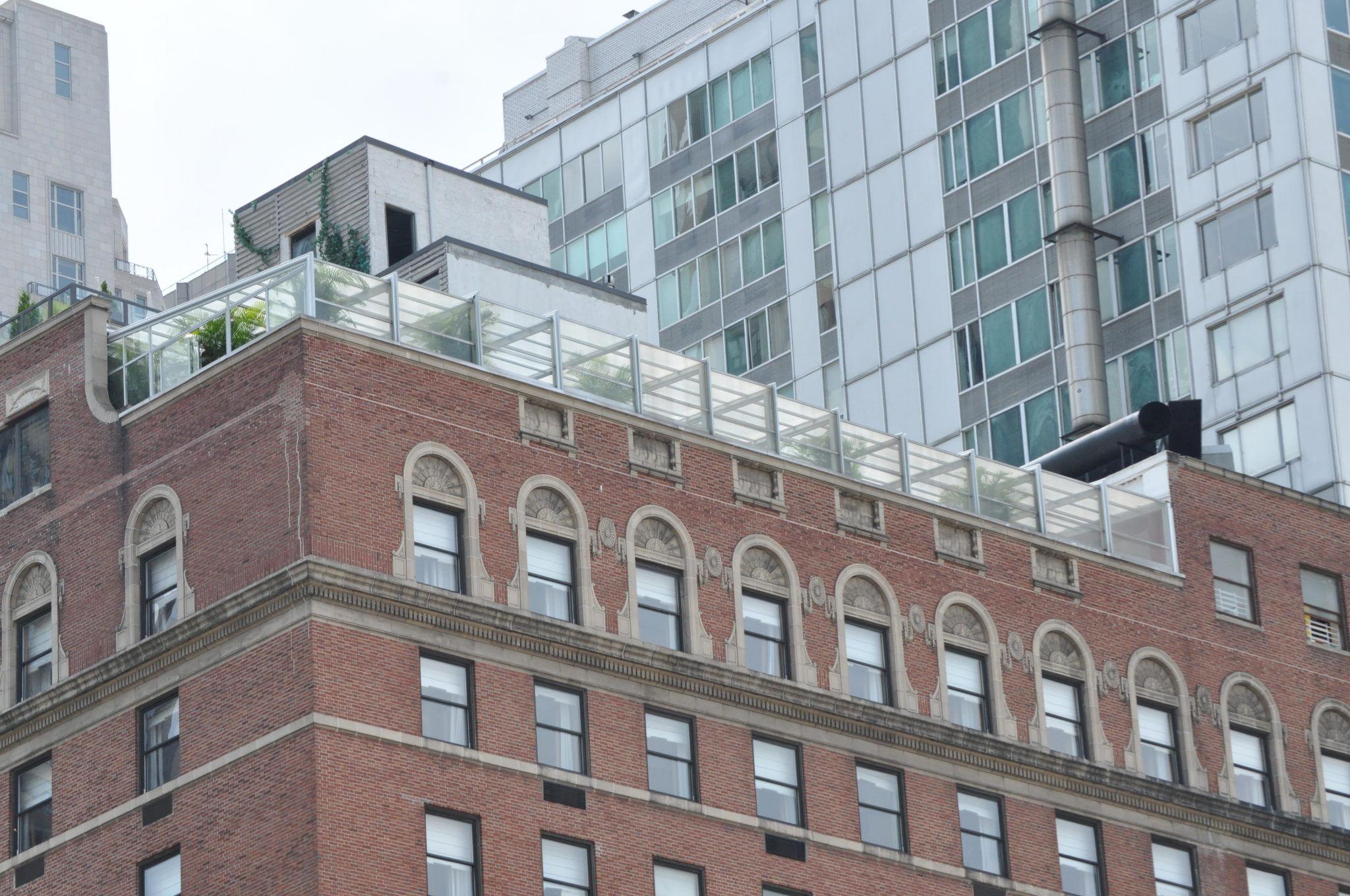 The Empire Hotel Retractable Rooftop Enclosure