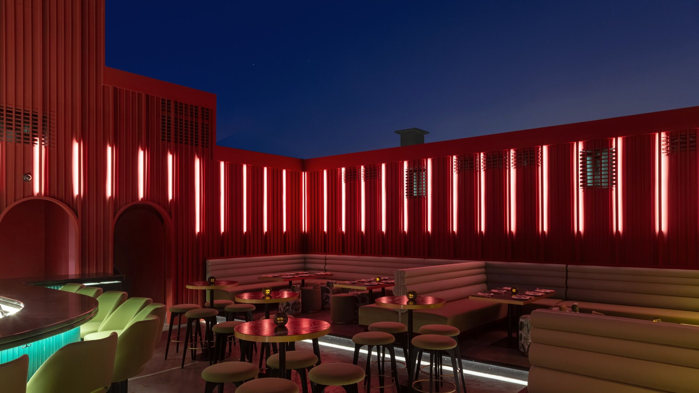 Bau Rooftop Lounge Bar Rabih Geha Architects Rg Architects Midia Fotos E Videos 4 Archello