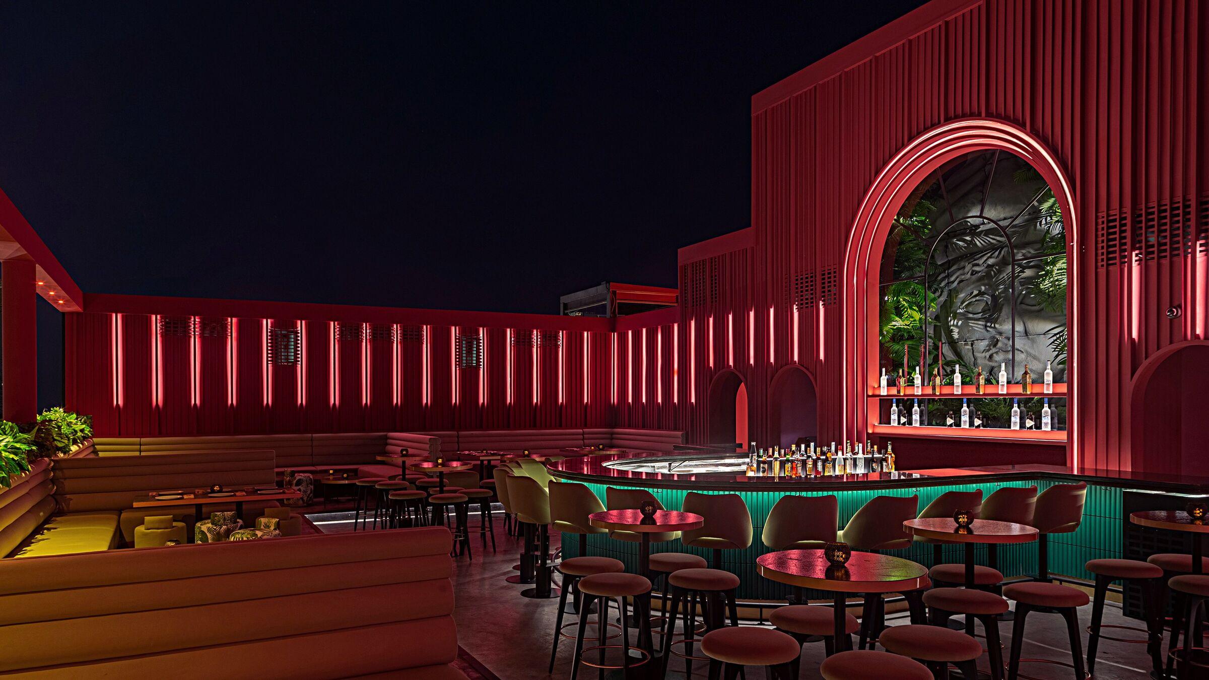 Bau Rooftop Lounge Bar Rabih Geha Architects Rg Architects Archello