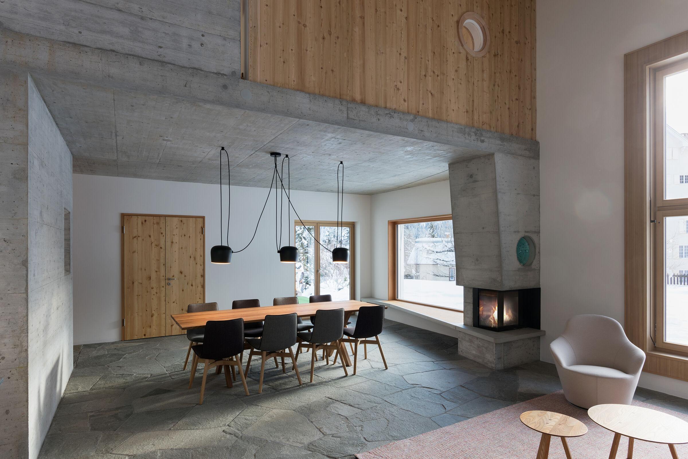 dade design – concrete fireplaces and concrete stoves.