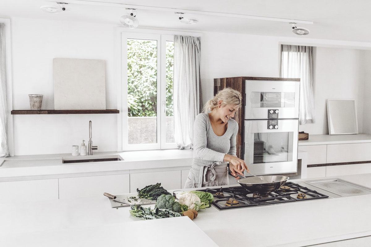 Nice details, elegant design and versatile cooking appliances