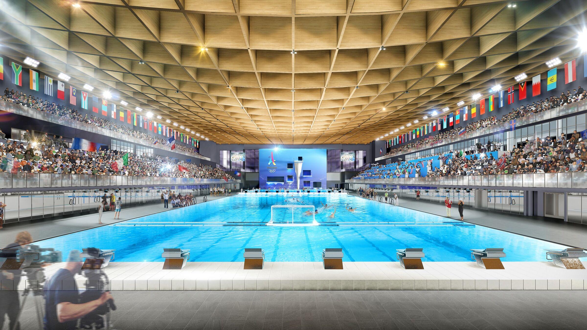 20 Paris Olympics' Aquatic Center   MAD Architects   Archello