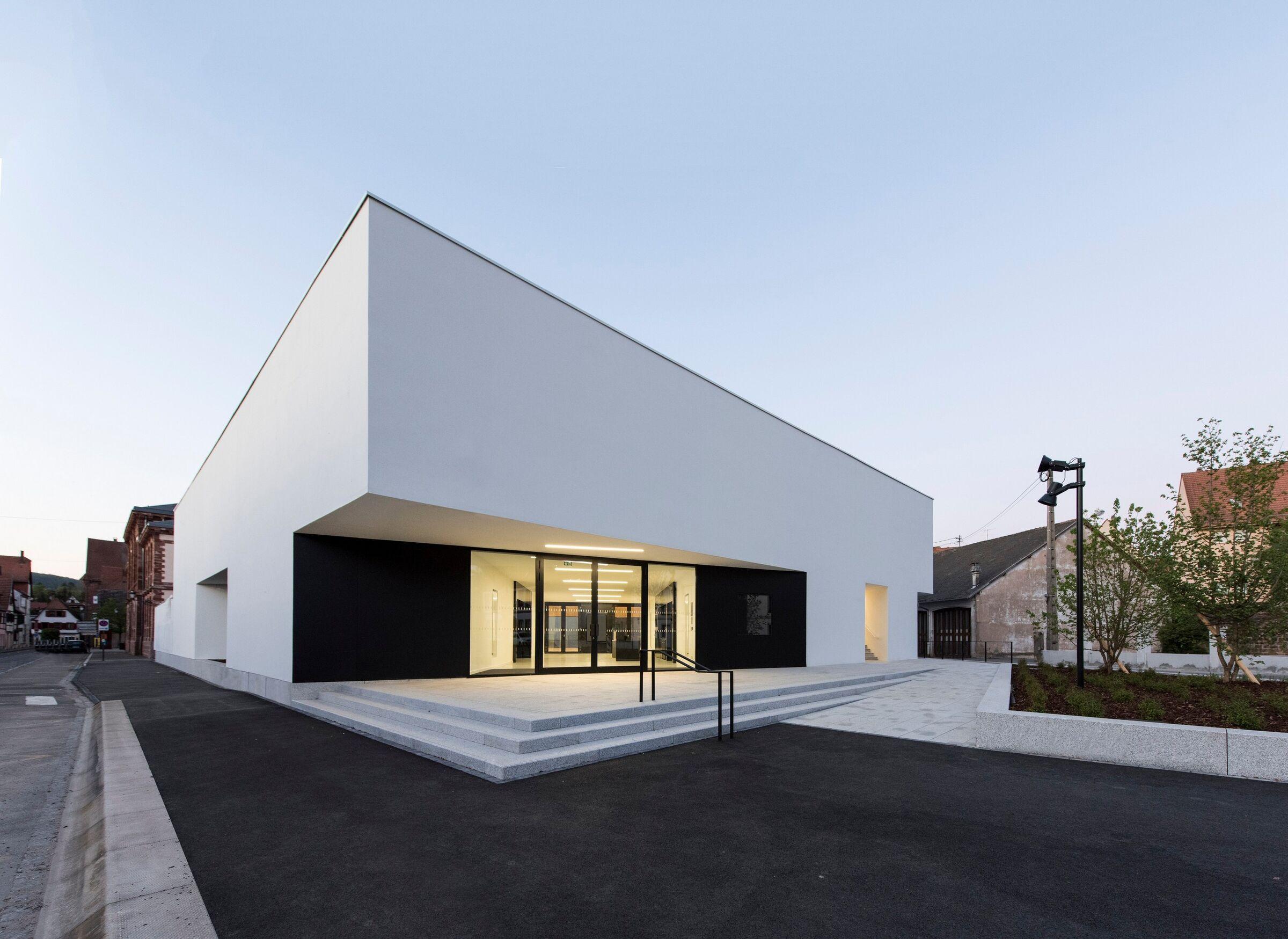 The Gymnasium Rhb Architectes Archello