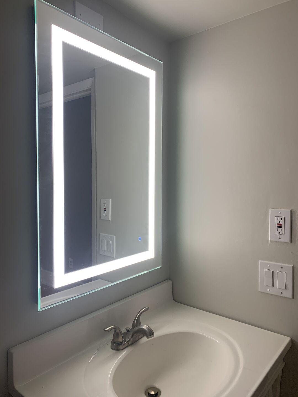 Led Mirror Bathroom Remodel Warmlyyours Archello