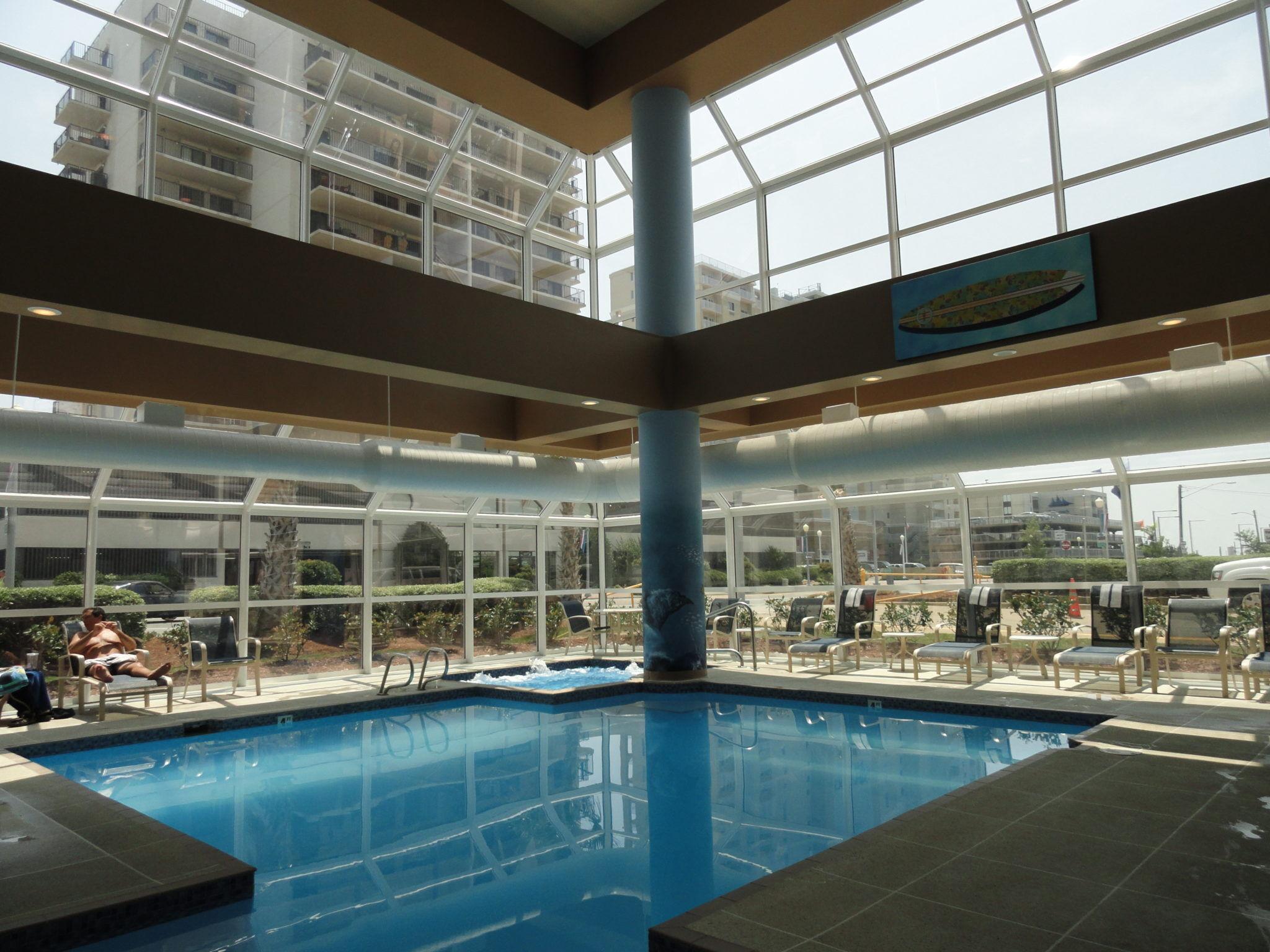 Ocean Key Resort Fixed Pool Enclosure