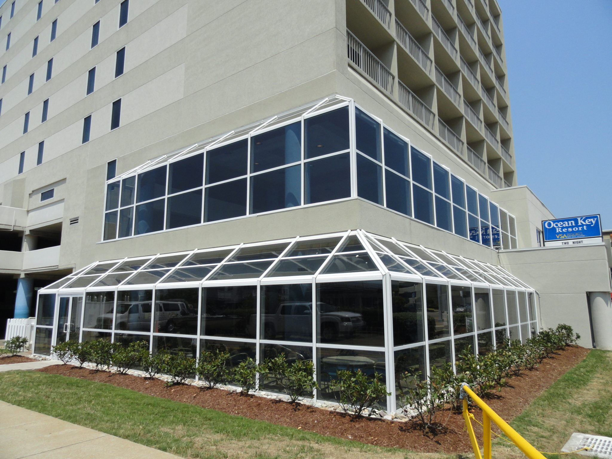 Ocean Key Resort Fixed Pool Enclosure