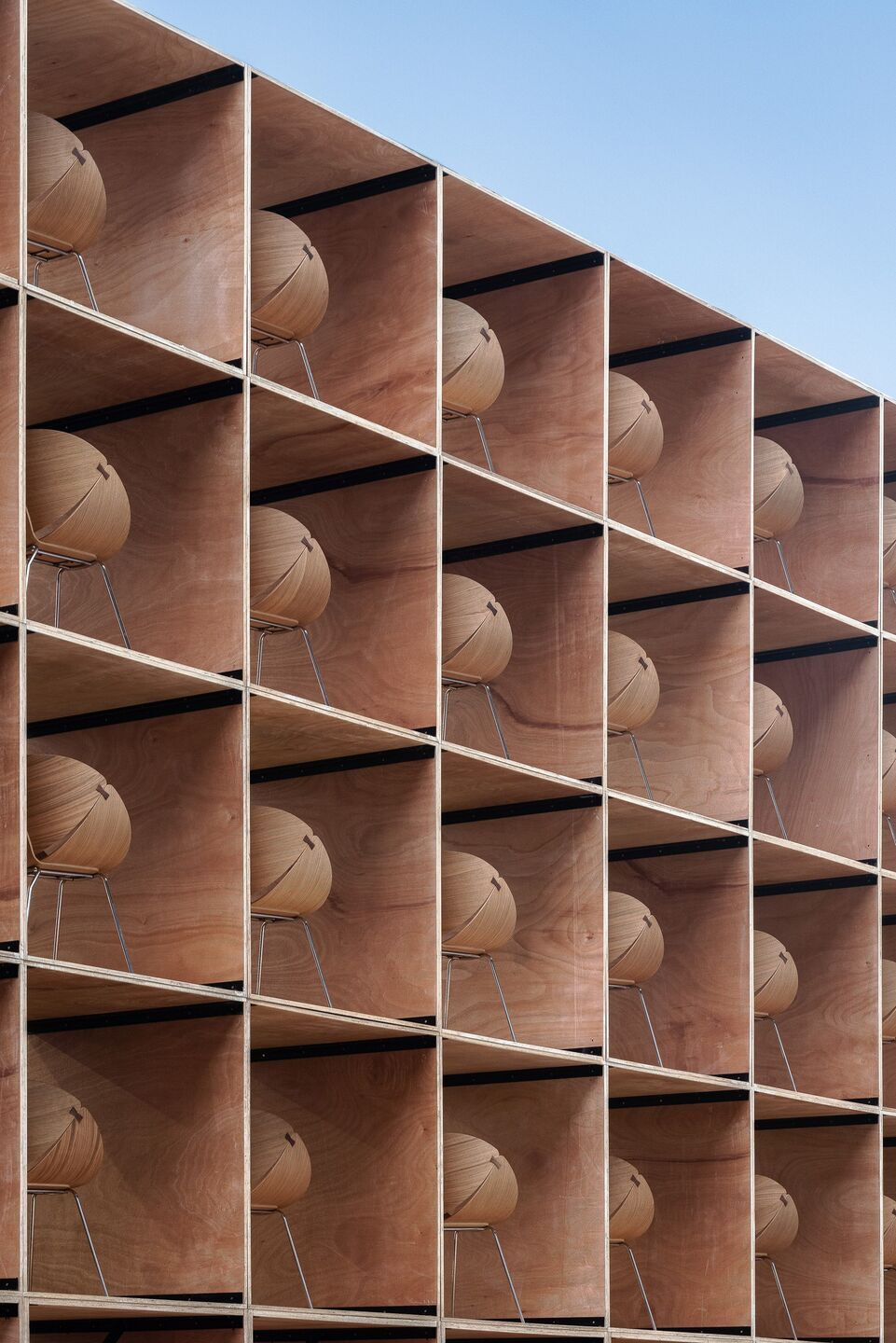 Furniture Pavilion S Sets The Stage For Sustainable