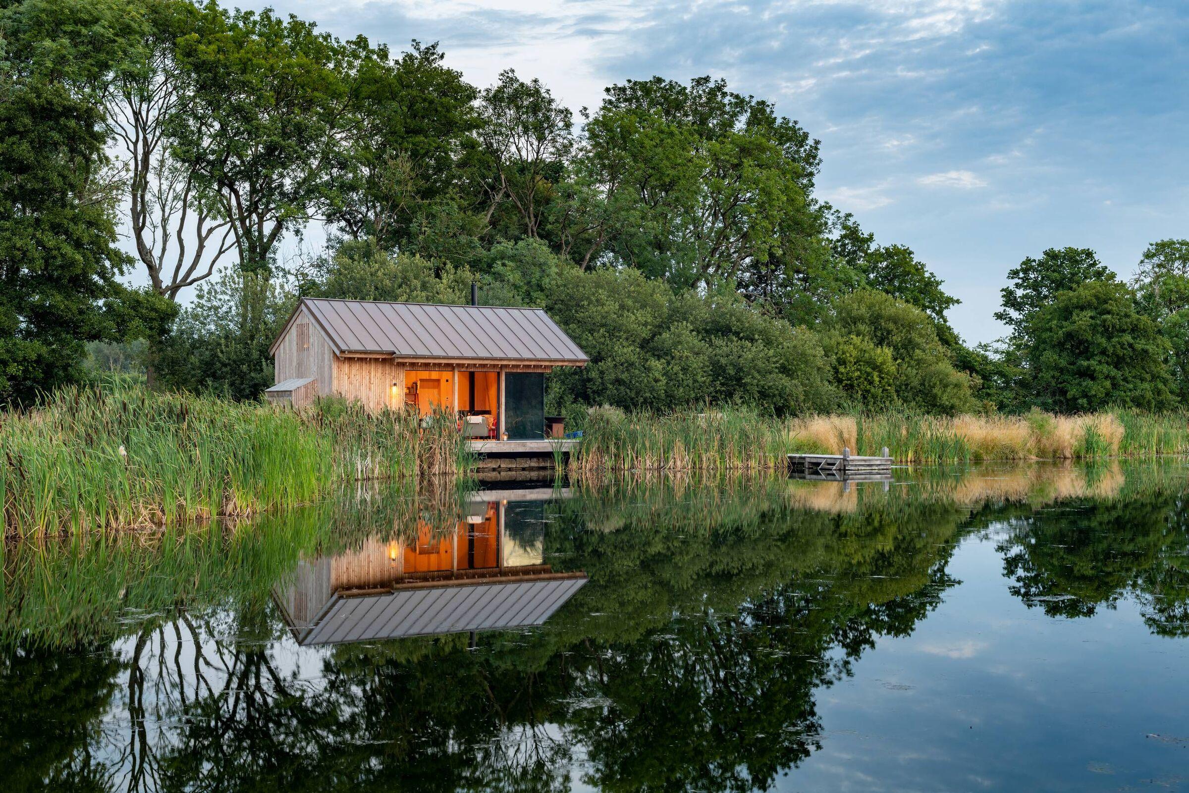 The Lake Cabin   RX Architects   Archello