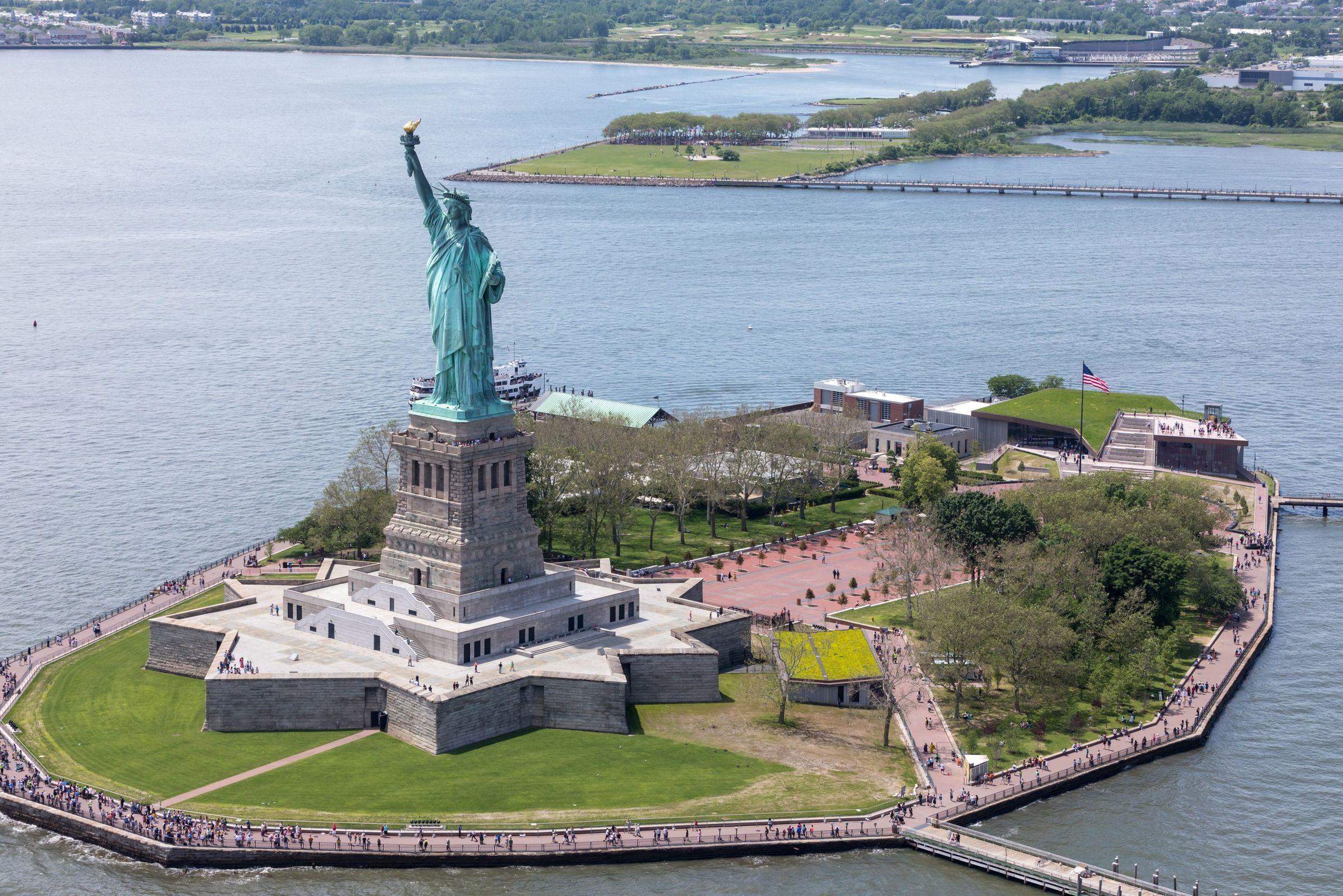 The Statue Of Liberty Museum Fxcollaborative Archello
