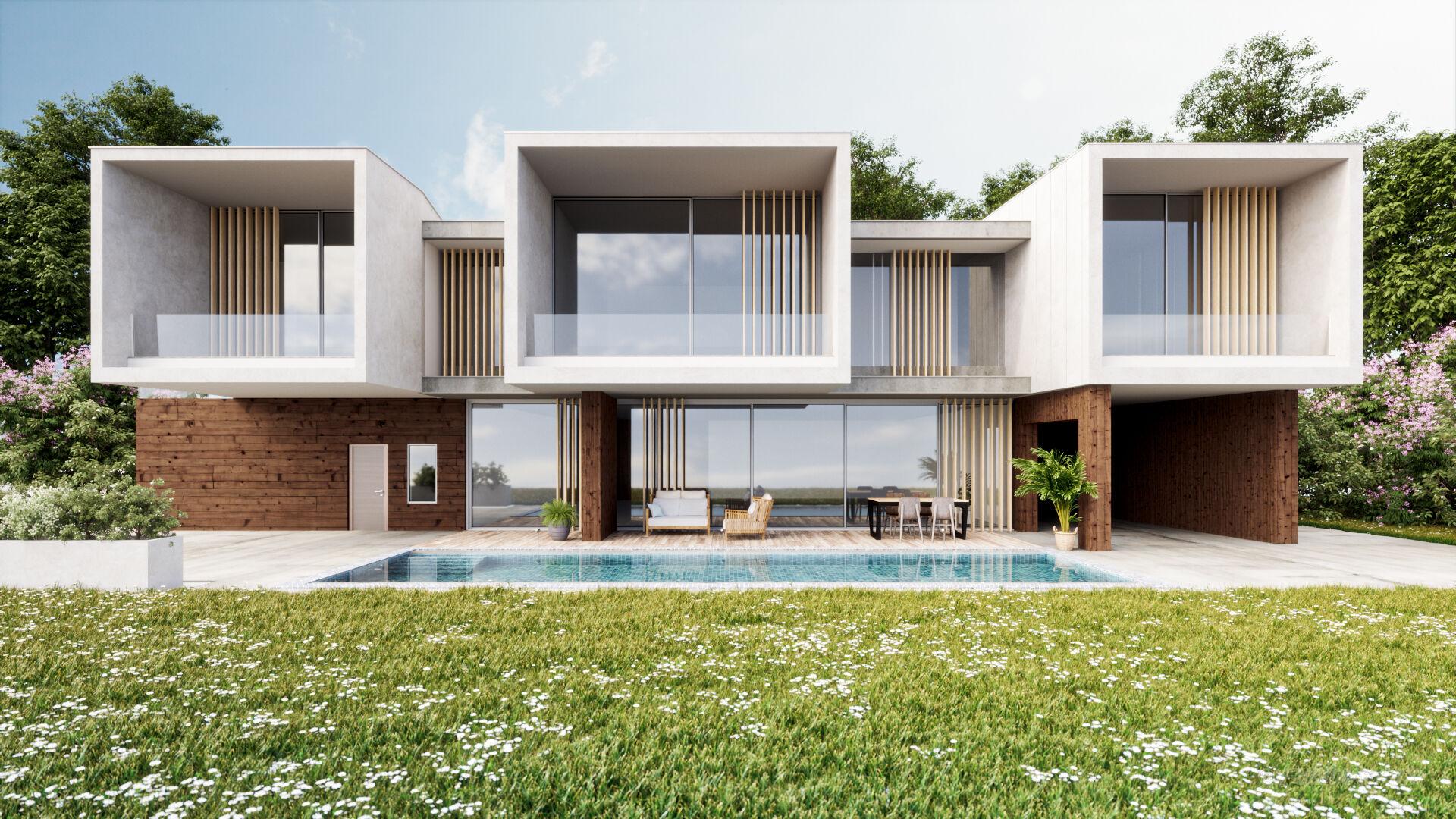 architecture exterior render