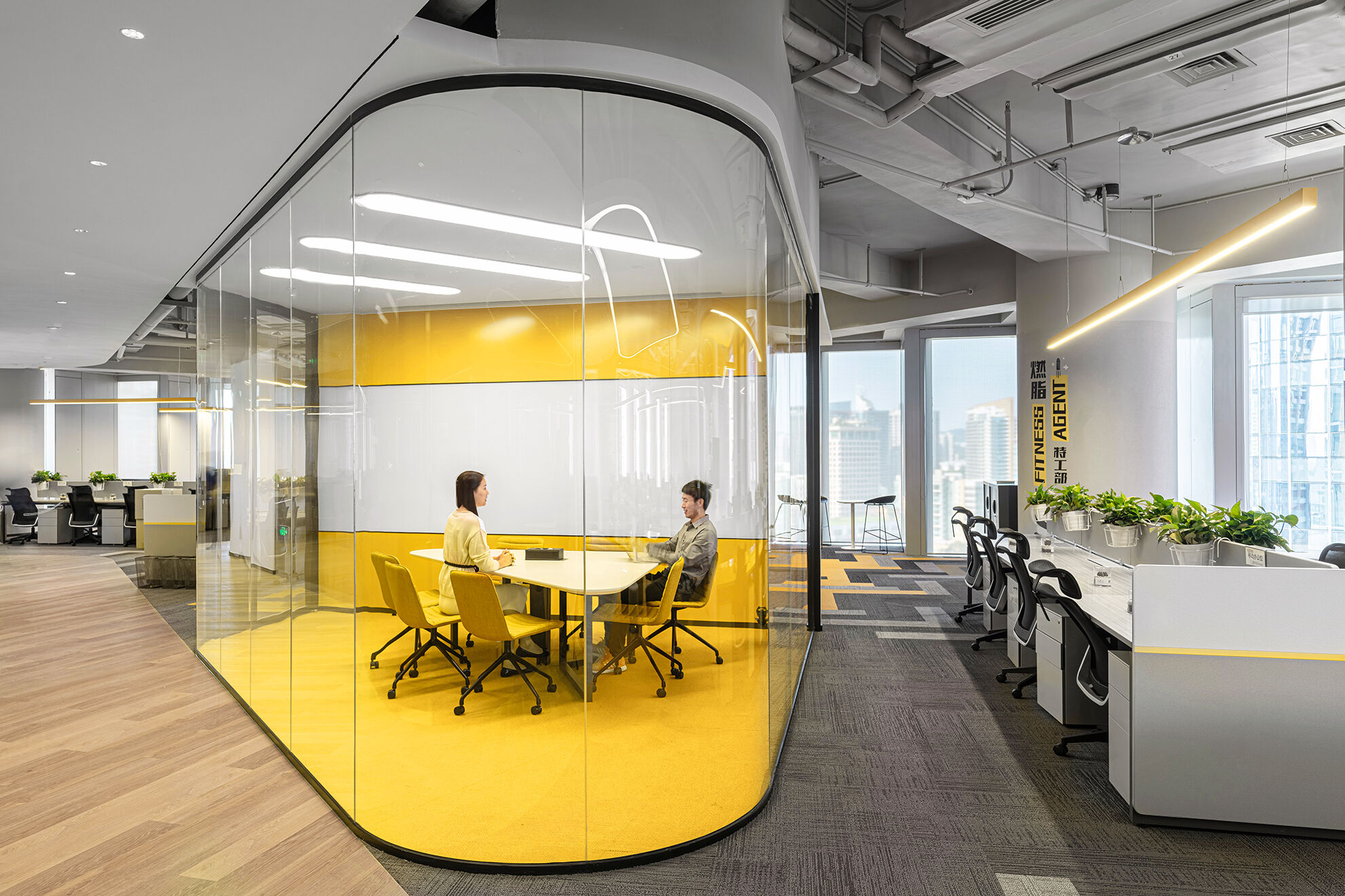 Vanke_Designed by corporate interior design firms such as Space Matrix