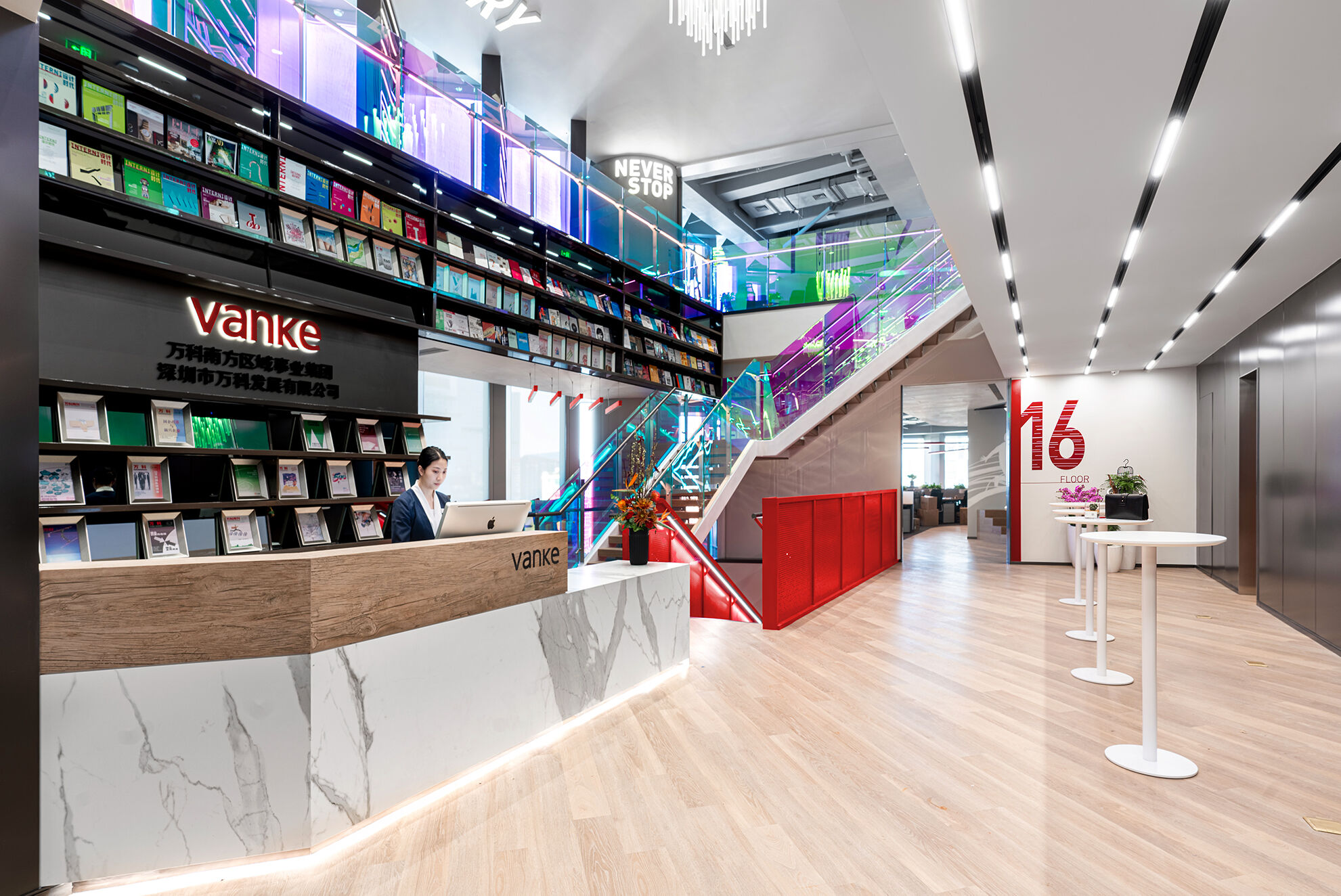 Vanke_Modern office design by Space Matrix