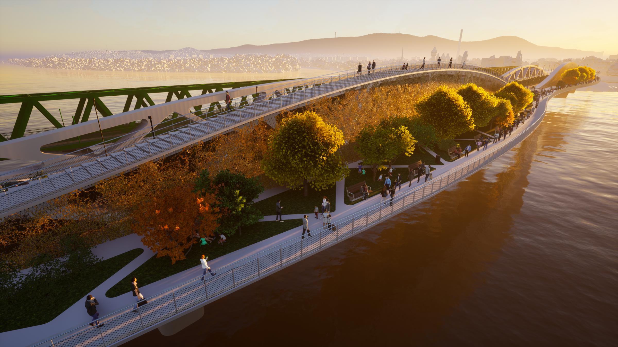 The 'green' bridge